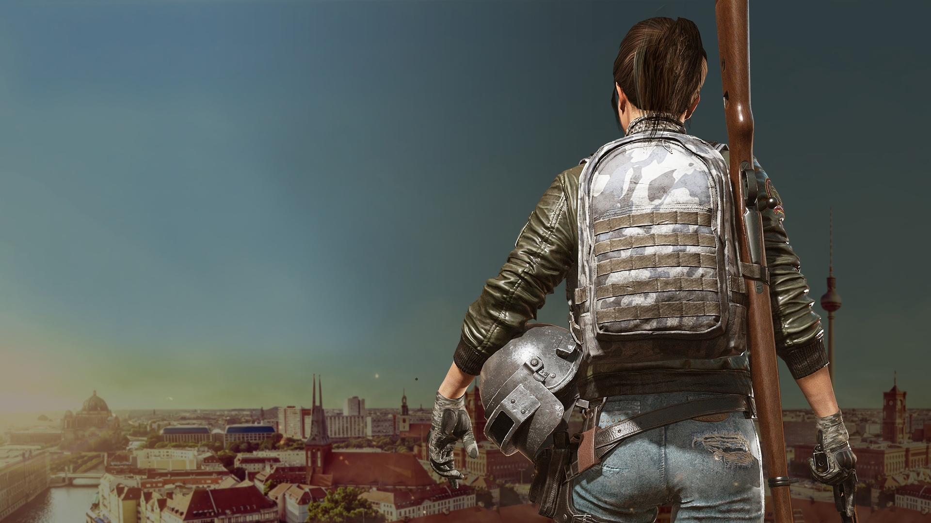 Pubg Mobile Full Screen Wallpapers: 1920x1080 Game Girl Pubg 4k Laptop Full HD 1080P HD 4k