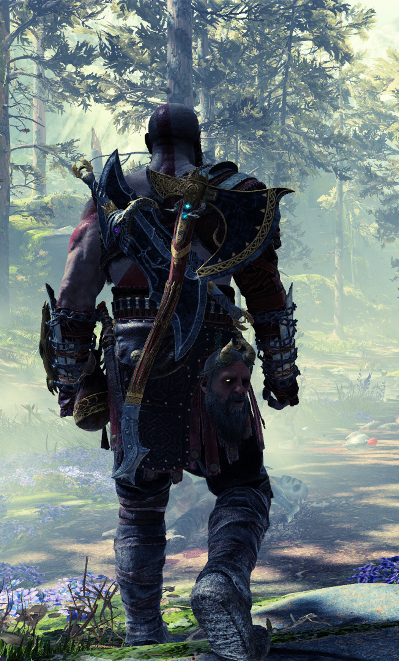 1280x2120 Game God Of War 4 1080p Iphone 6 Hd 4k Wallpapers