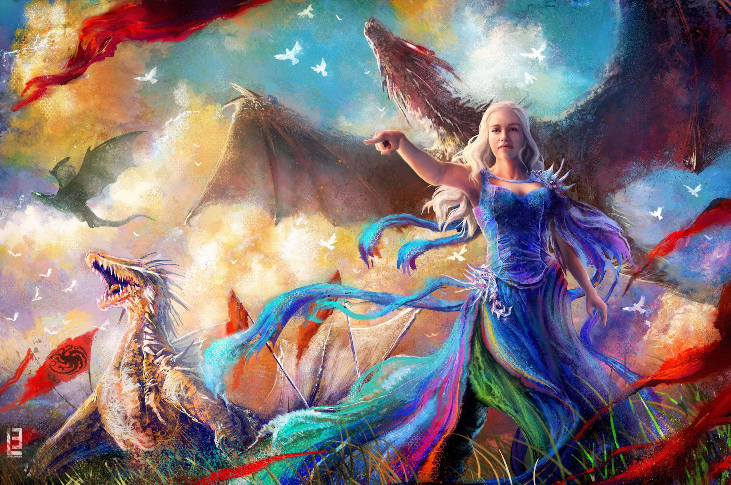 2560x1700 Game Of Thrones Fan Art Chromebook Pixel Hd 4k