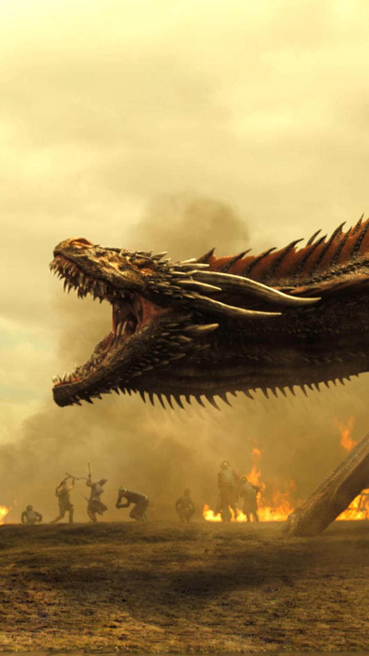 720x1280 Game Of Thrones Season 7 Dragon And Khaleesi Moto Gx