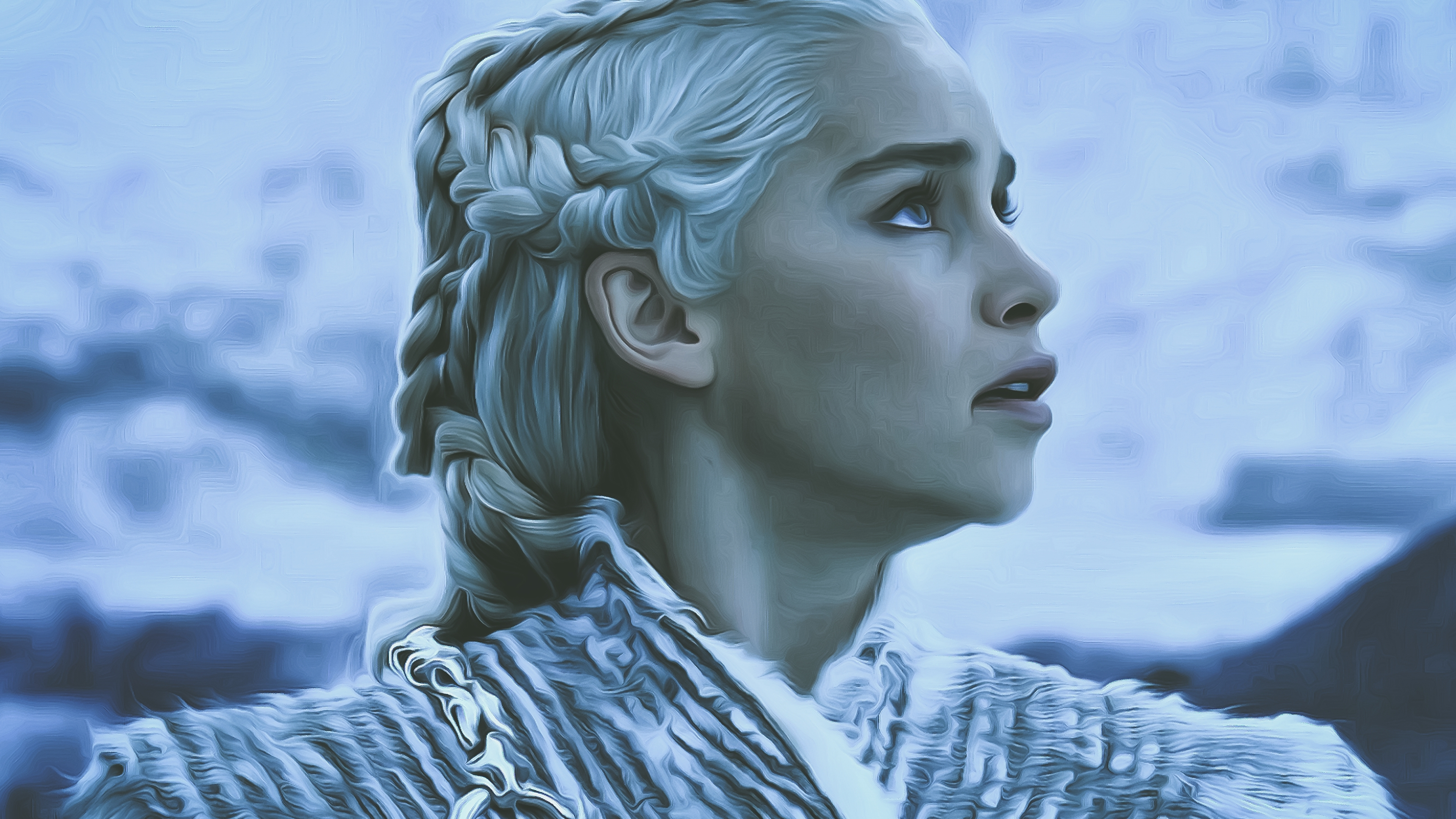 3840x2160 Game Of Thrones Season 8 Daenerys Targaryen 4k Hd 4k