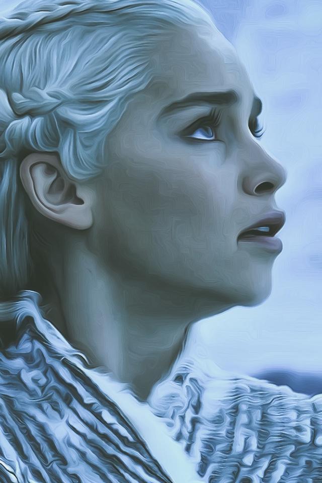 640x960 Game Of Thrones Season 8 Daenerys Targaryen Iphone 4