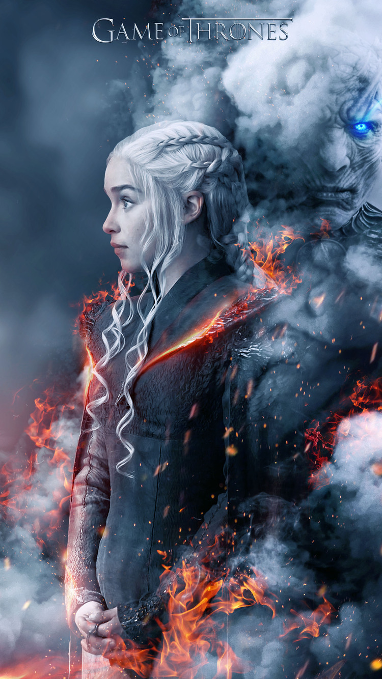 750x1334 Game Of Thrones Season 8 Fan Poster Iphone 6