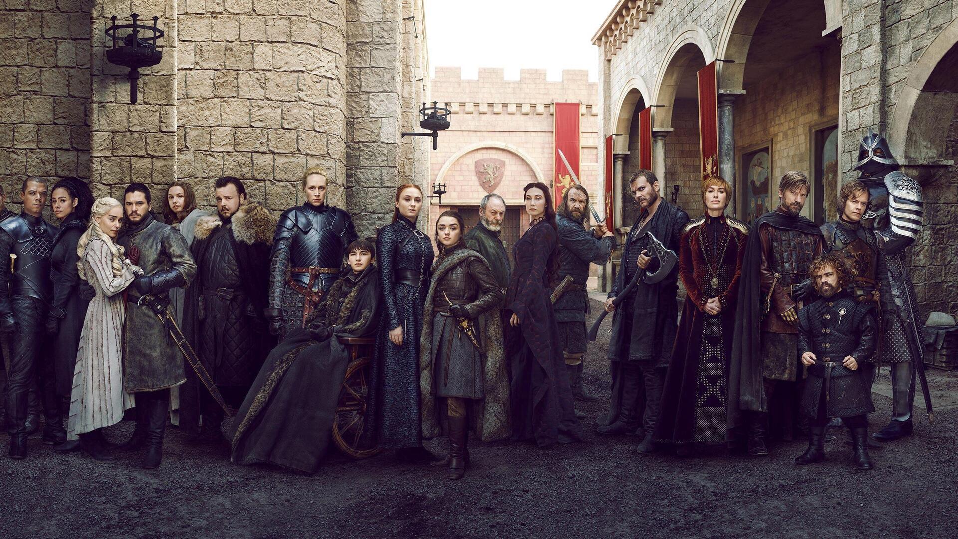 1920x1080 Game Of Thrones Season 8 Full Cast 4k Laptop ... Game Of Thrones Cast Season 4 Episode 6