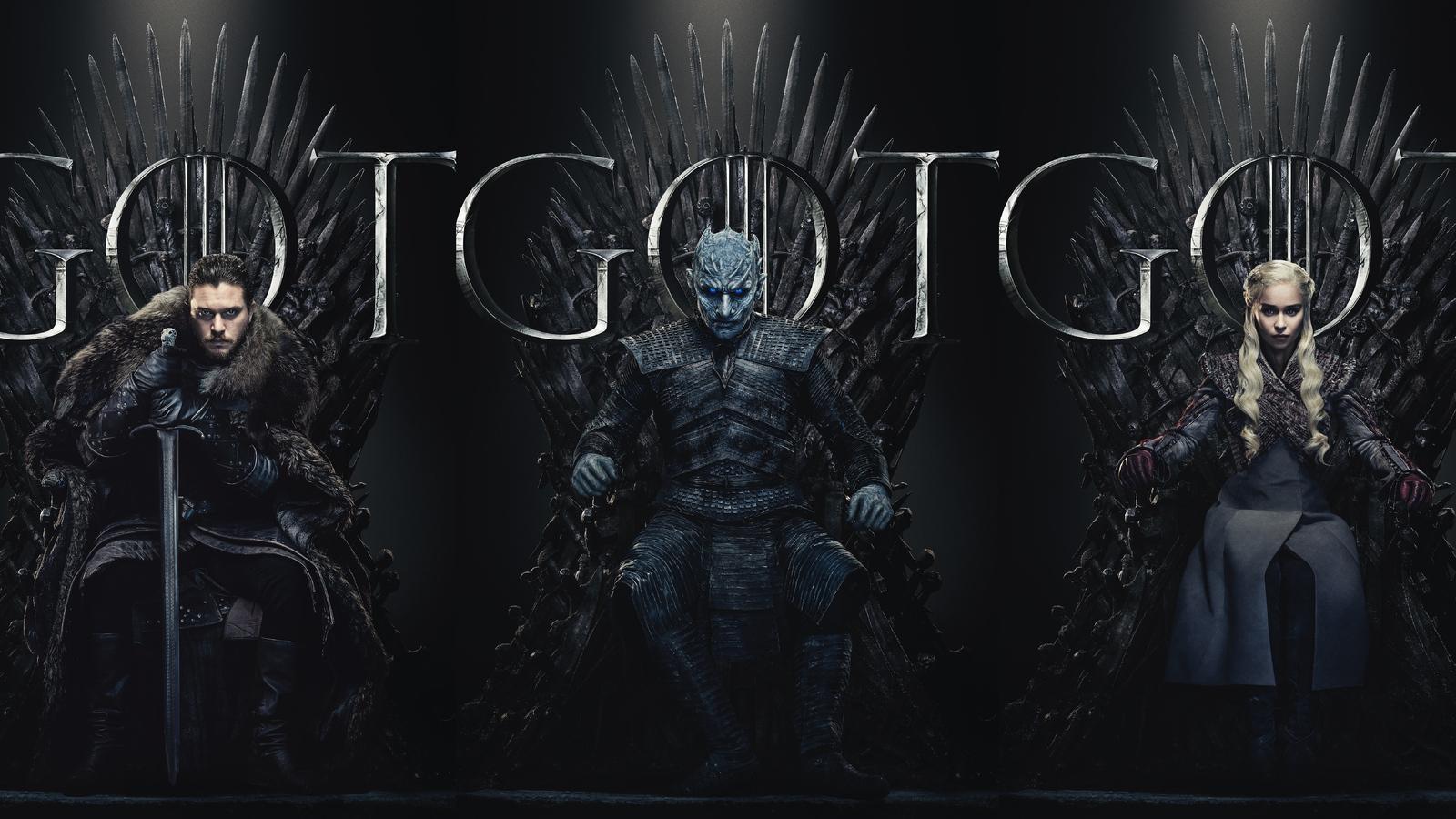 1600x900 Game Of Thrones Season 8 Poster 2019 1600x900 ...