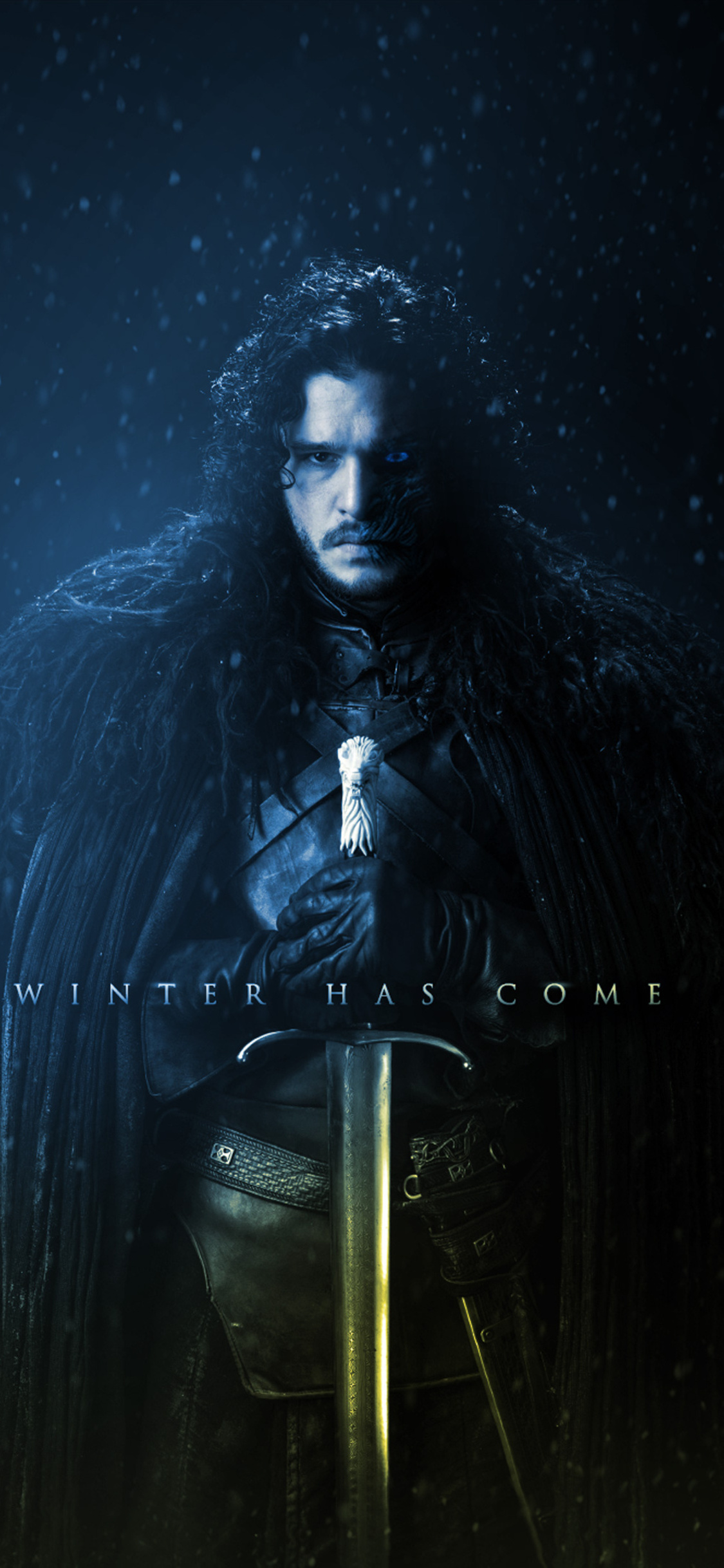 1125x2436 Game Of Thrones Winter Has Come Artwork 4k ...