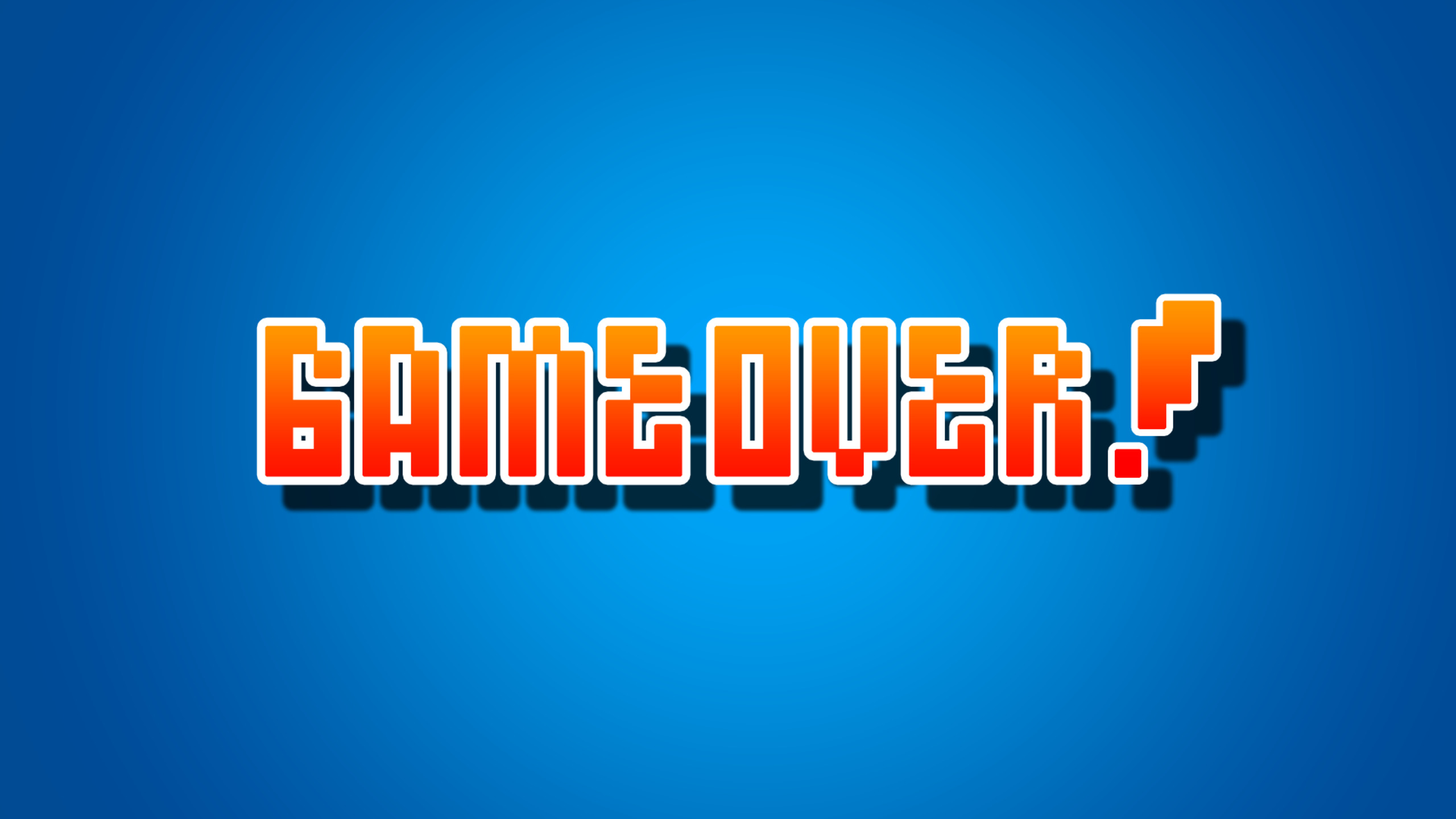 2560x1440 Game Over 1440P Resolution HD 4k Wallpapers