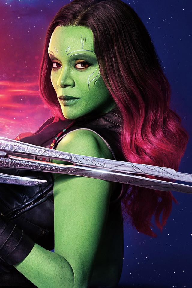640x960 gamora guardians of the galaxy vol 2 cast 10k - Guardians of the galaxy 2 8k ...