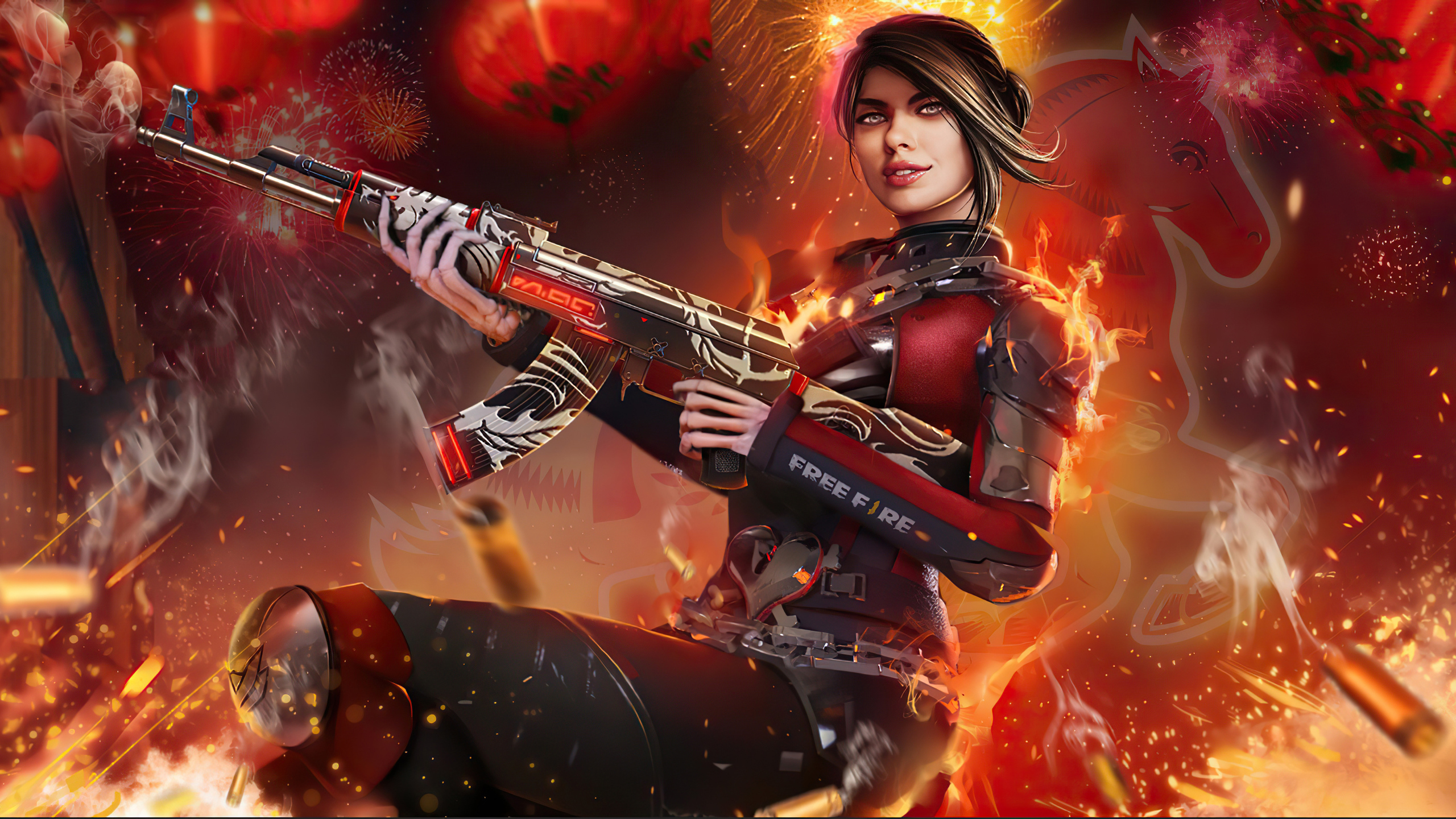 2560x1440 Garena Free Fire 4k Game 2020 1440p Resolution Hd 4k Wallpapers Images Backgrounds Photos And Pictures