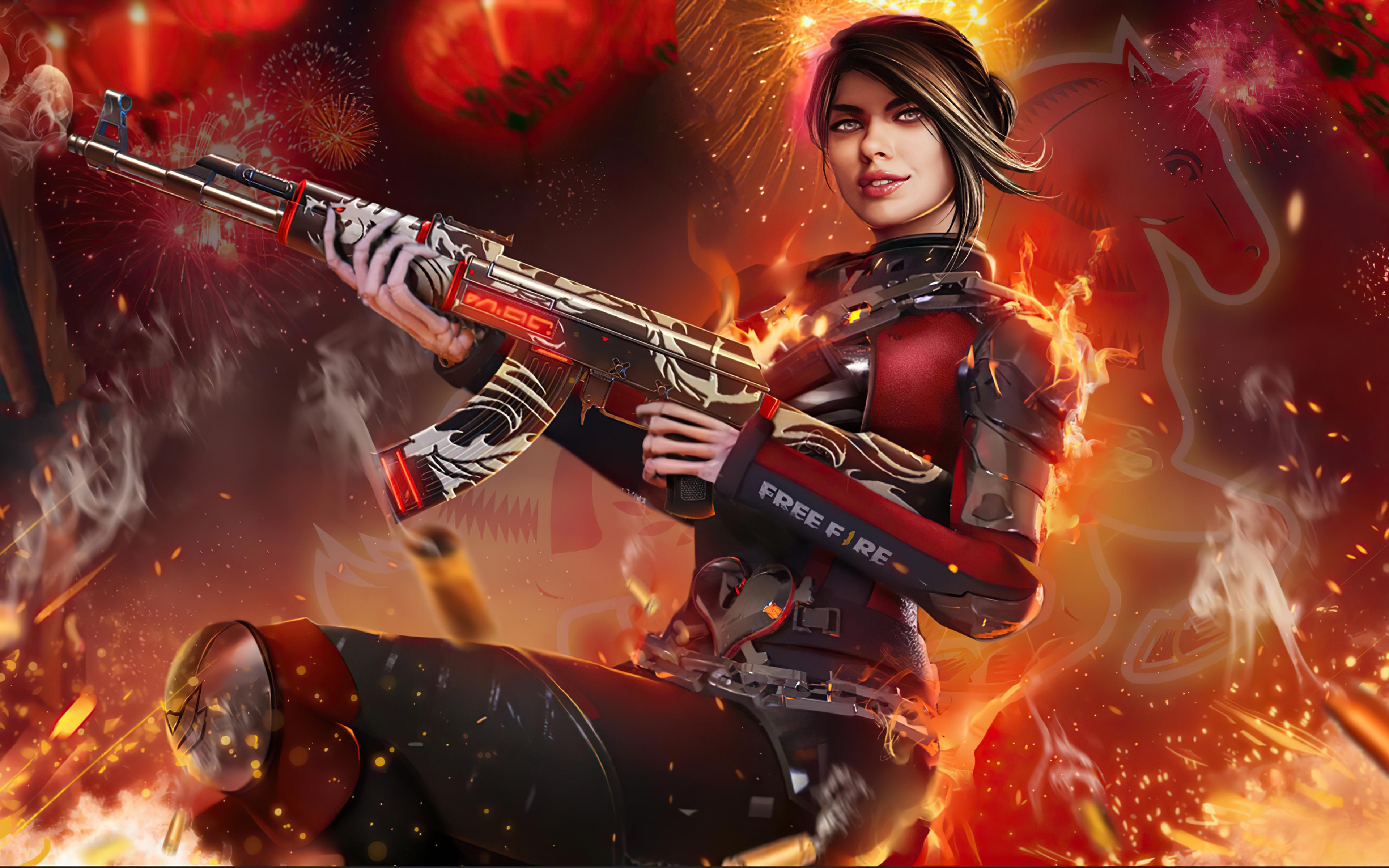 3840x2400 Garena Free Fire 4k Game 2020 4k HD 4k ...