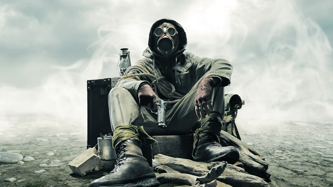 1366x768 Gas Mask Soldier Apocalypse 1366x768 Resolution ...