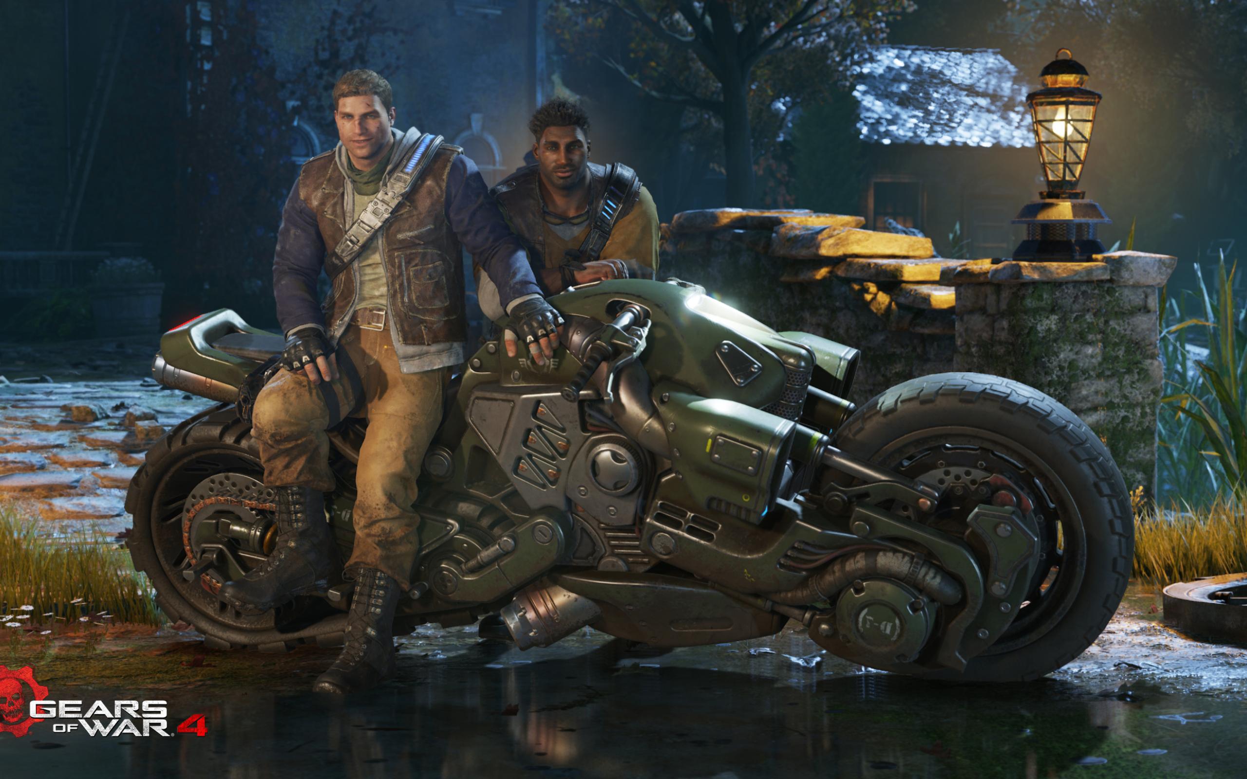 Gears Of War 4 2016 Video Game 4k Hd Desktop Wallpaper For: 2560x1600 Gears Of War 4 2016 Game 2560x1600 Resolution HD