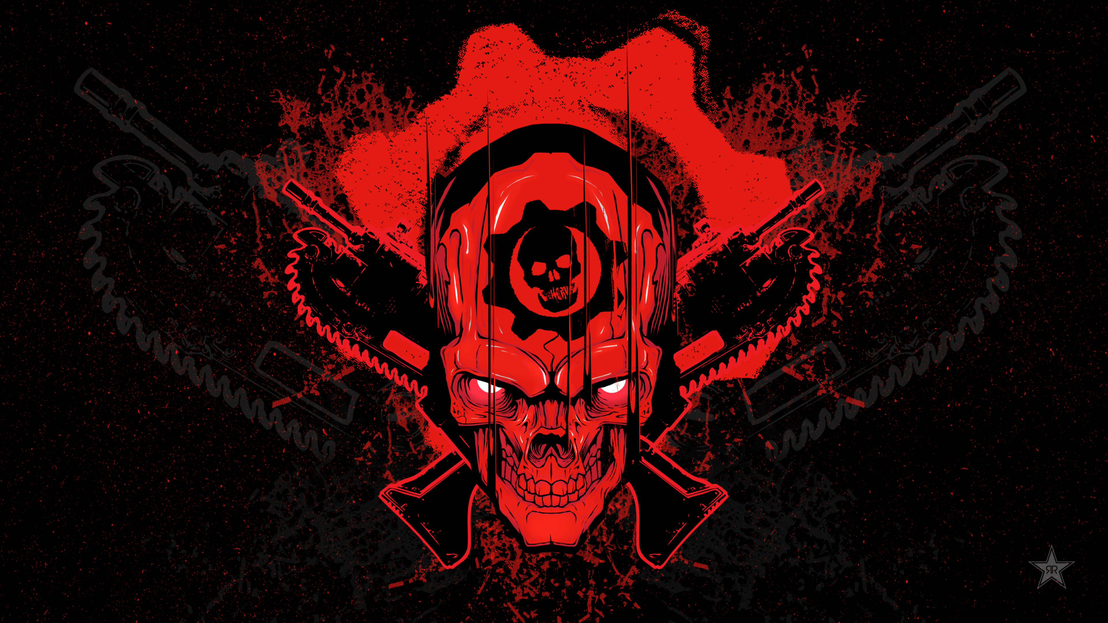 3840x2160 gears of war 4 skull 4k hd 4k wallpapers images - Skull 4k images ...