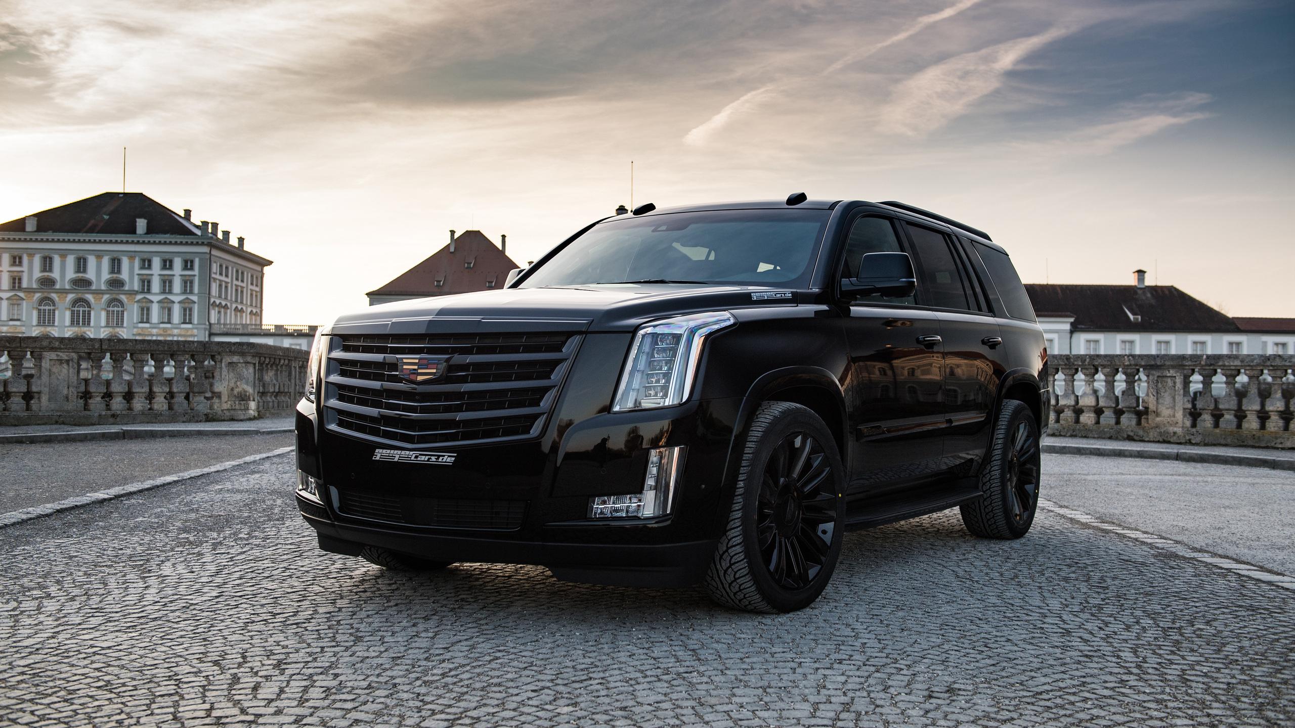 2560x1440 Geiger Cadillac Escalade Black Edition 2018 ...