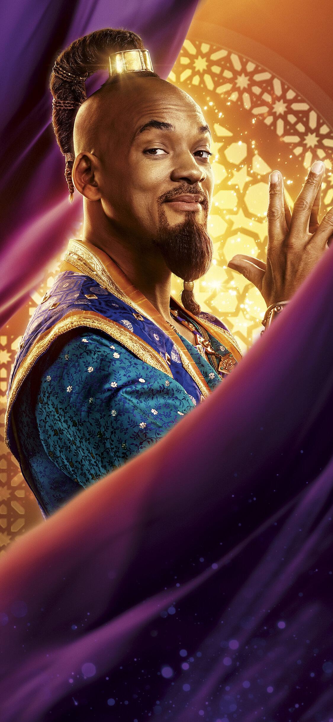1125x2436 Genie In Aladdin 2019 5k Iphone Xs Iphone 10