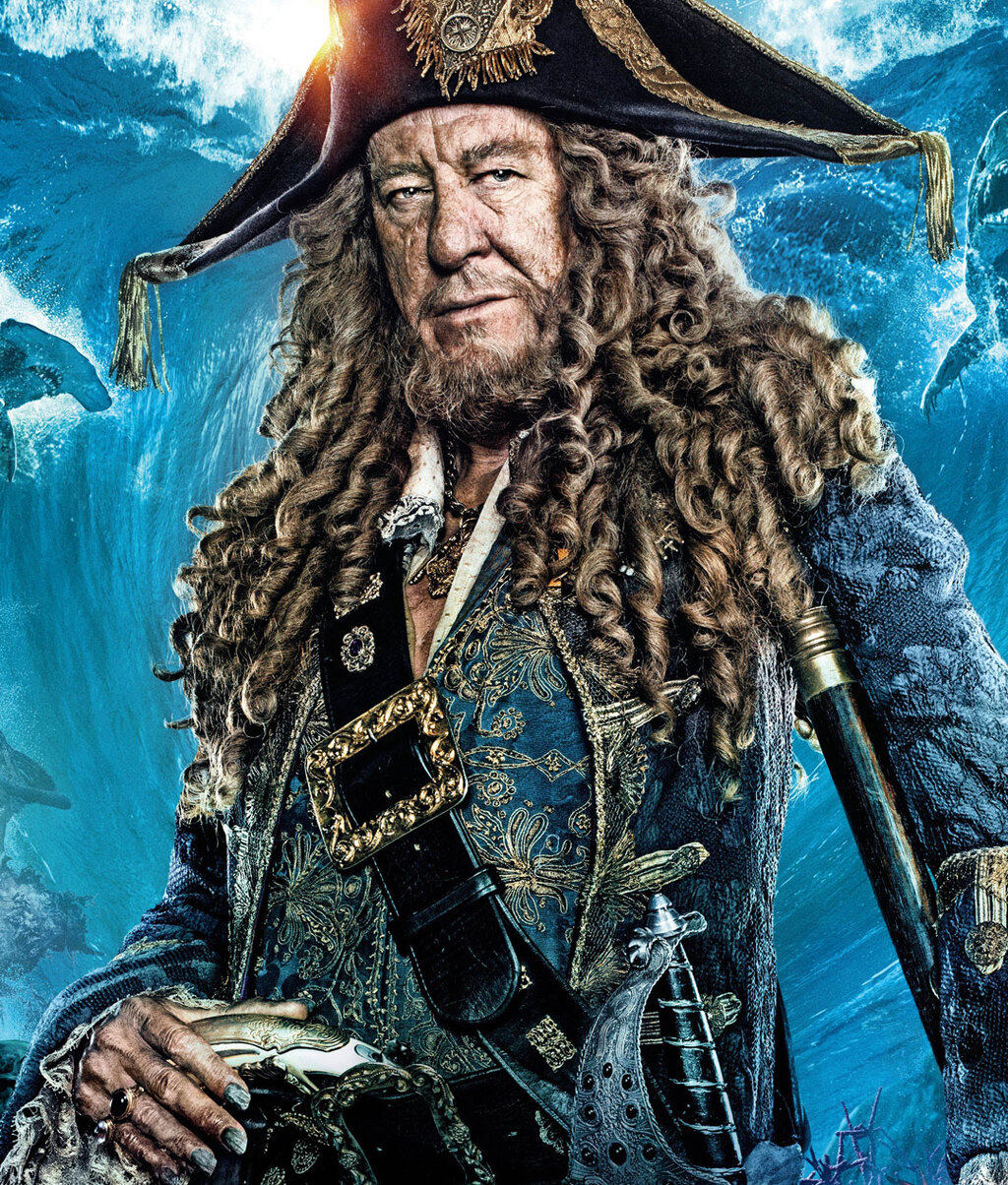 Pirates Of The Caribbean Wallpaper Hd: Download Geoffrey Rush In Pirates Of The Caribbean Dead