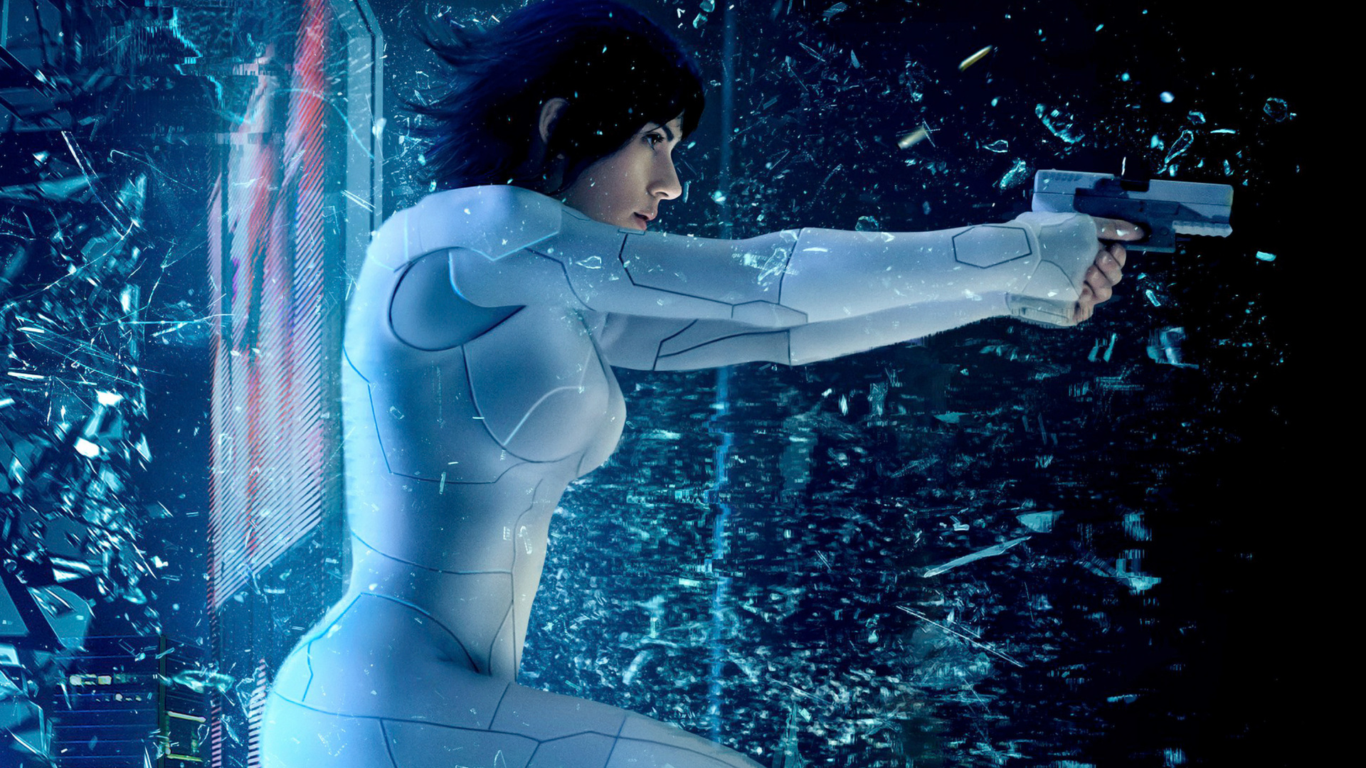 1920x1080 Ghost In The Shell 2017 Movie Laptop Full Hd 1080p Hd 4k
