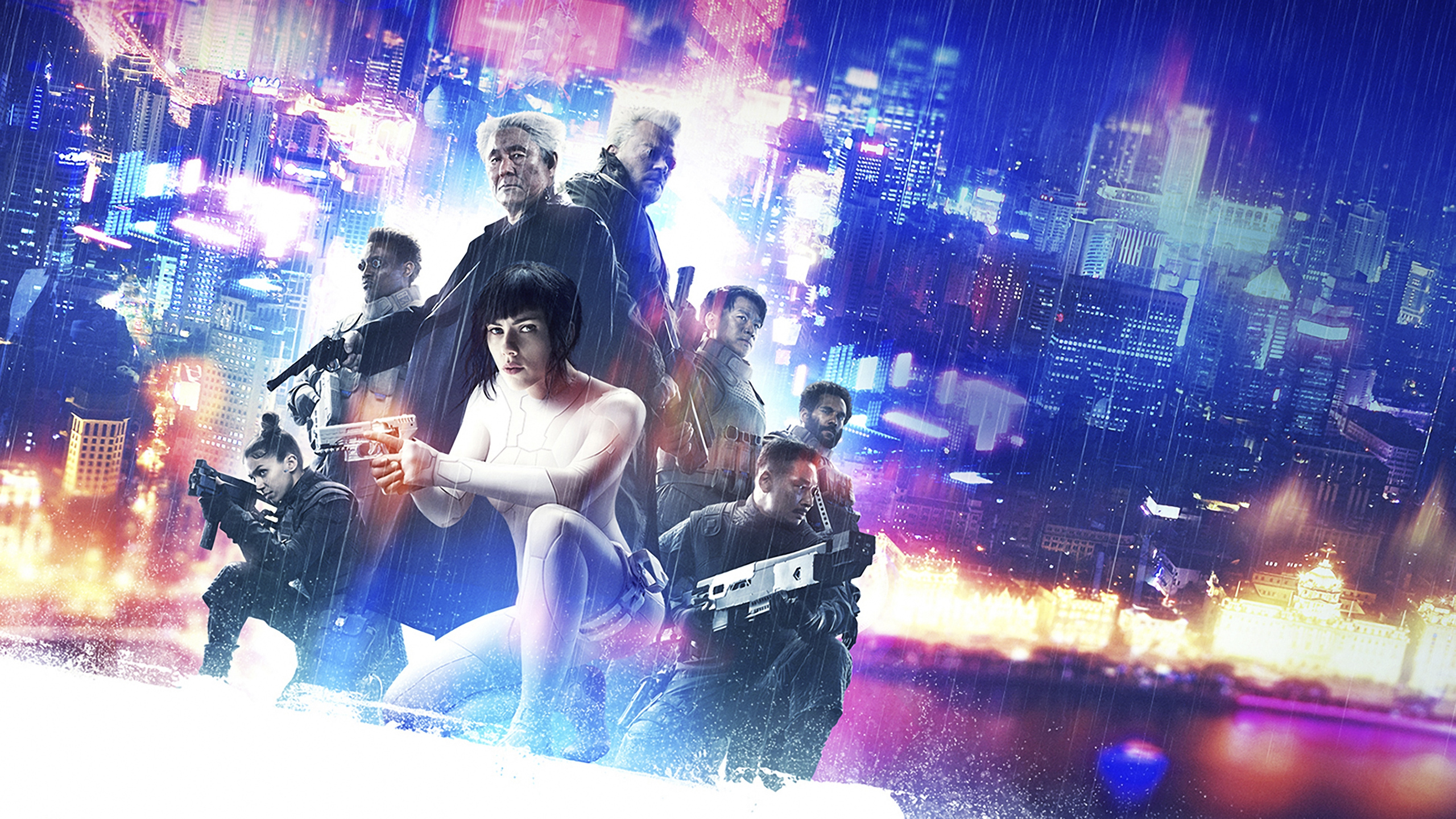 ghost in the shell movie poster hd