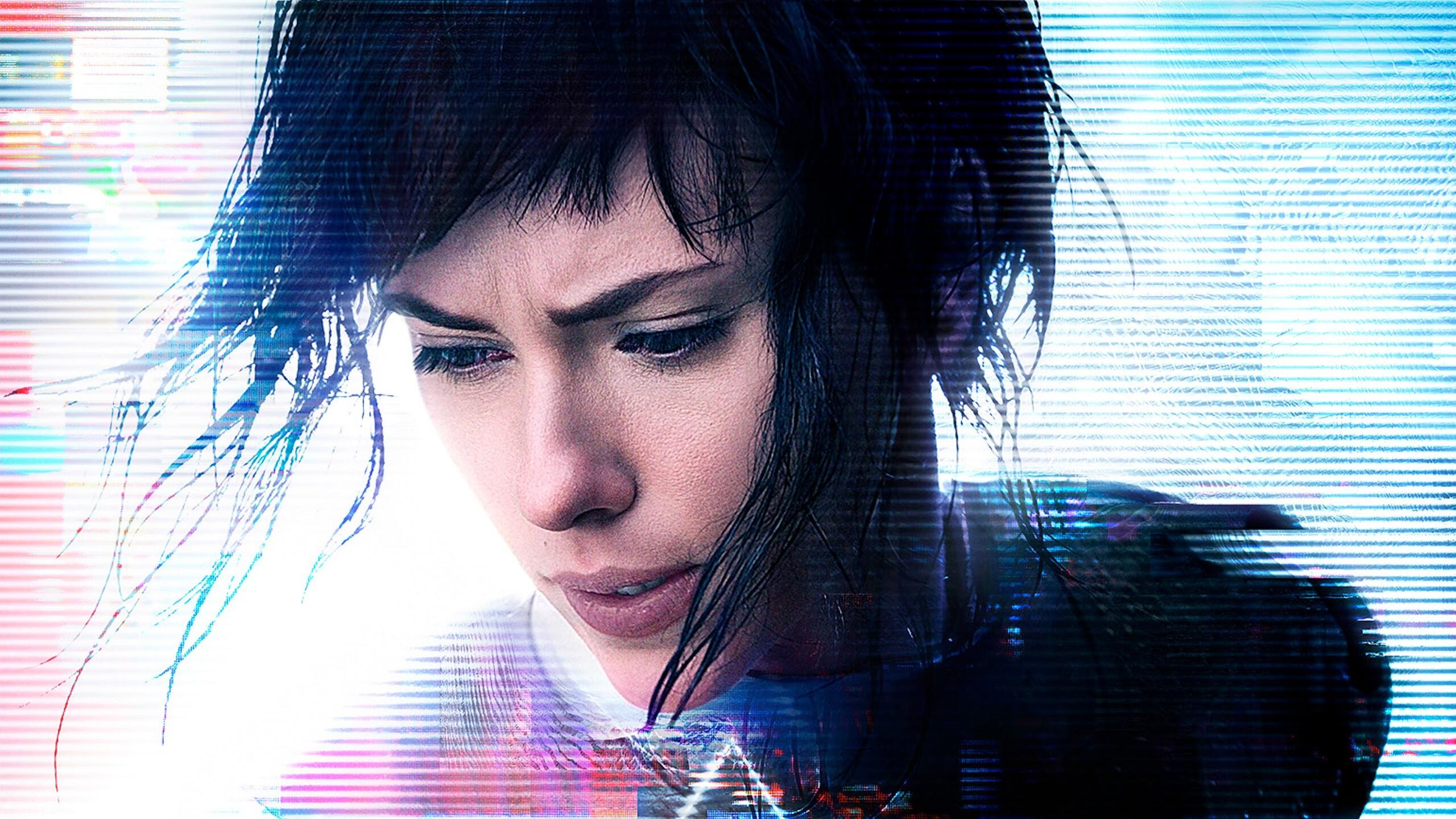 2560x1440 Ghost In The Shell Scarlett Johansson 1440p Resolution