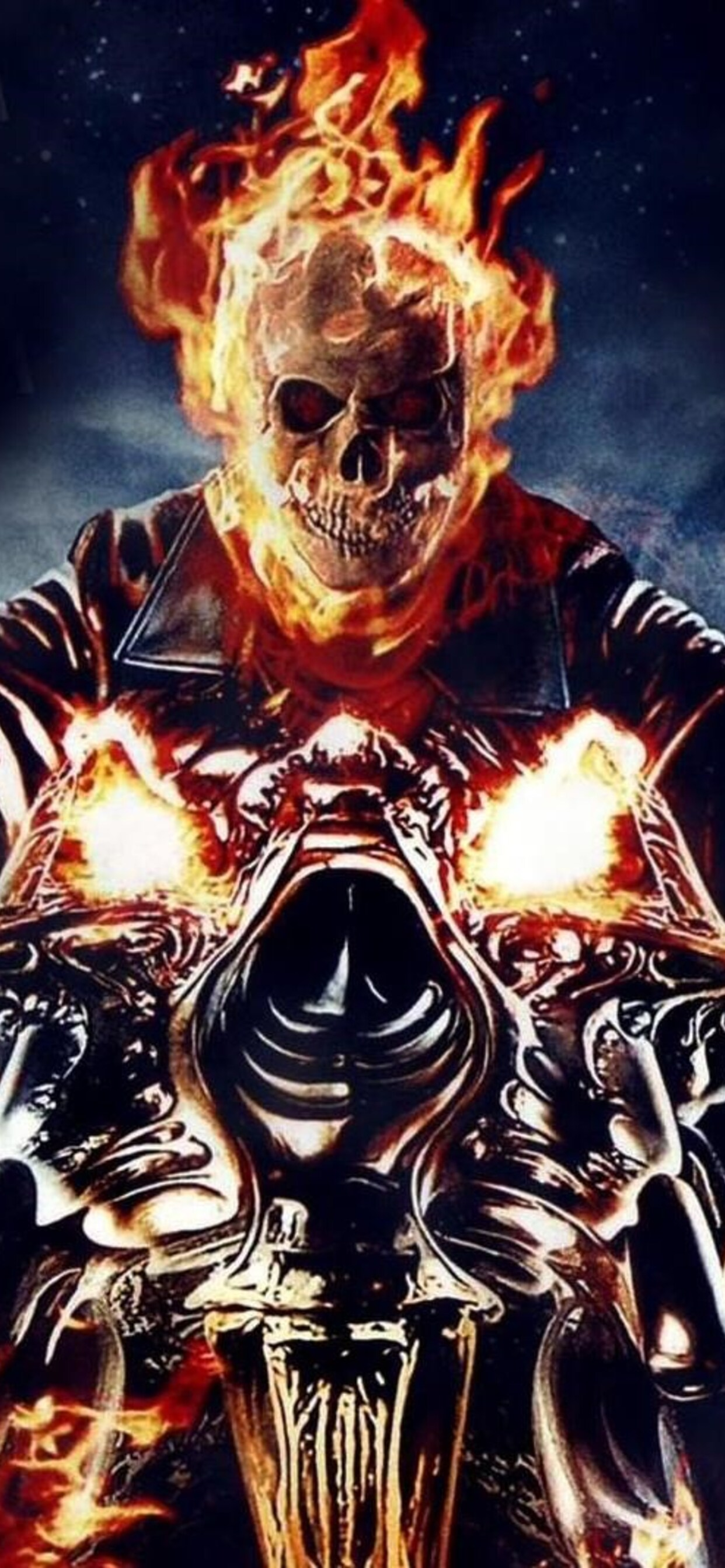 1242x2688 ghost rider iphone xs max hd 4k wallpapers, images