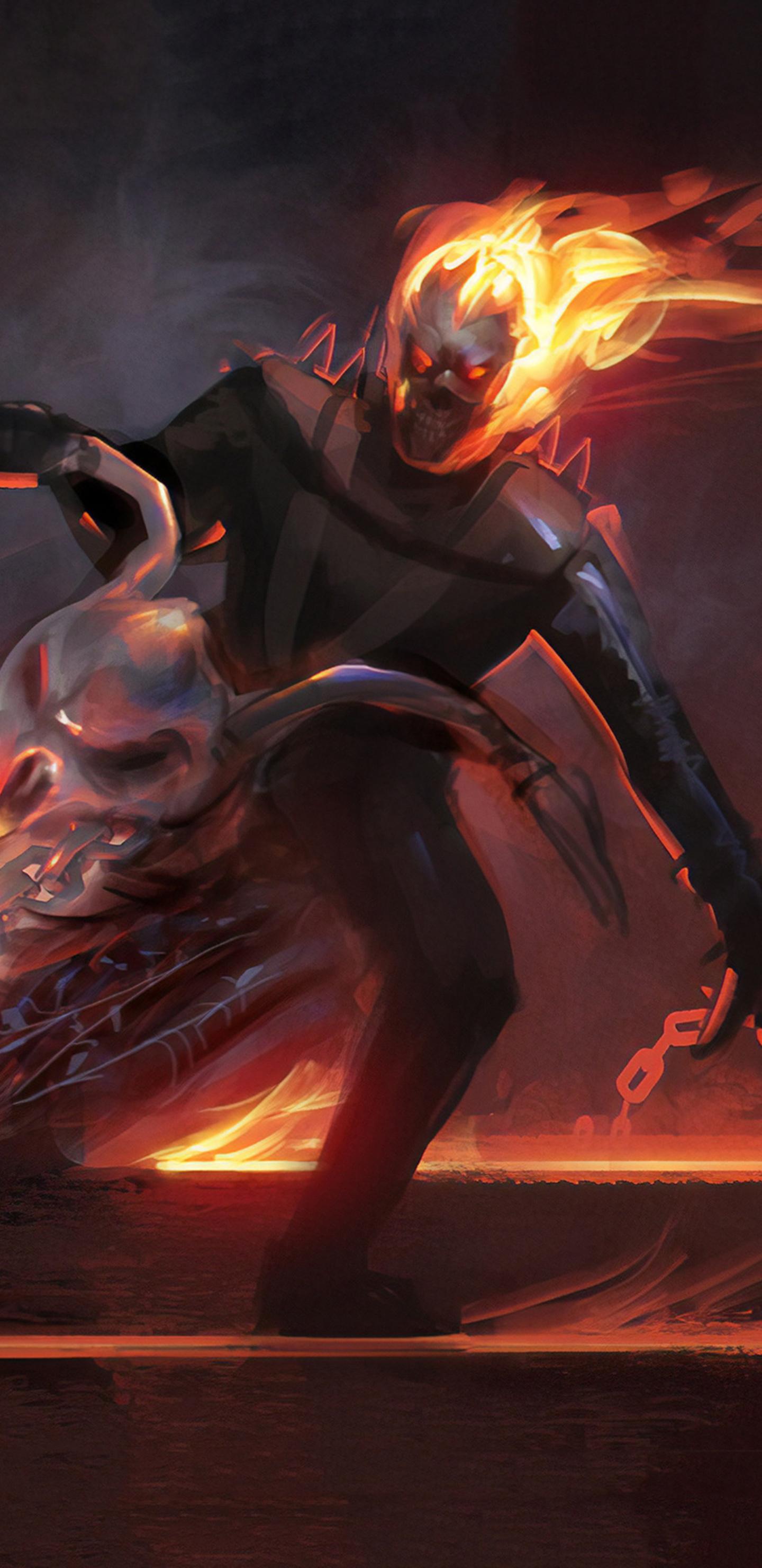 1440x2960 Ghost Rider Spirit Of Vengeance Game Samsung Galaxy Note