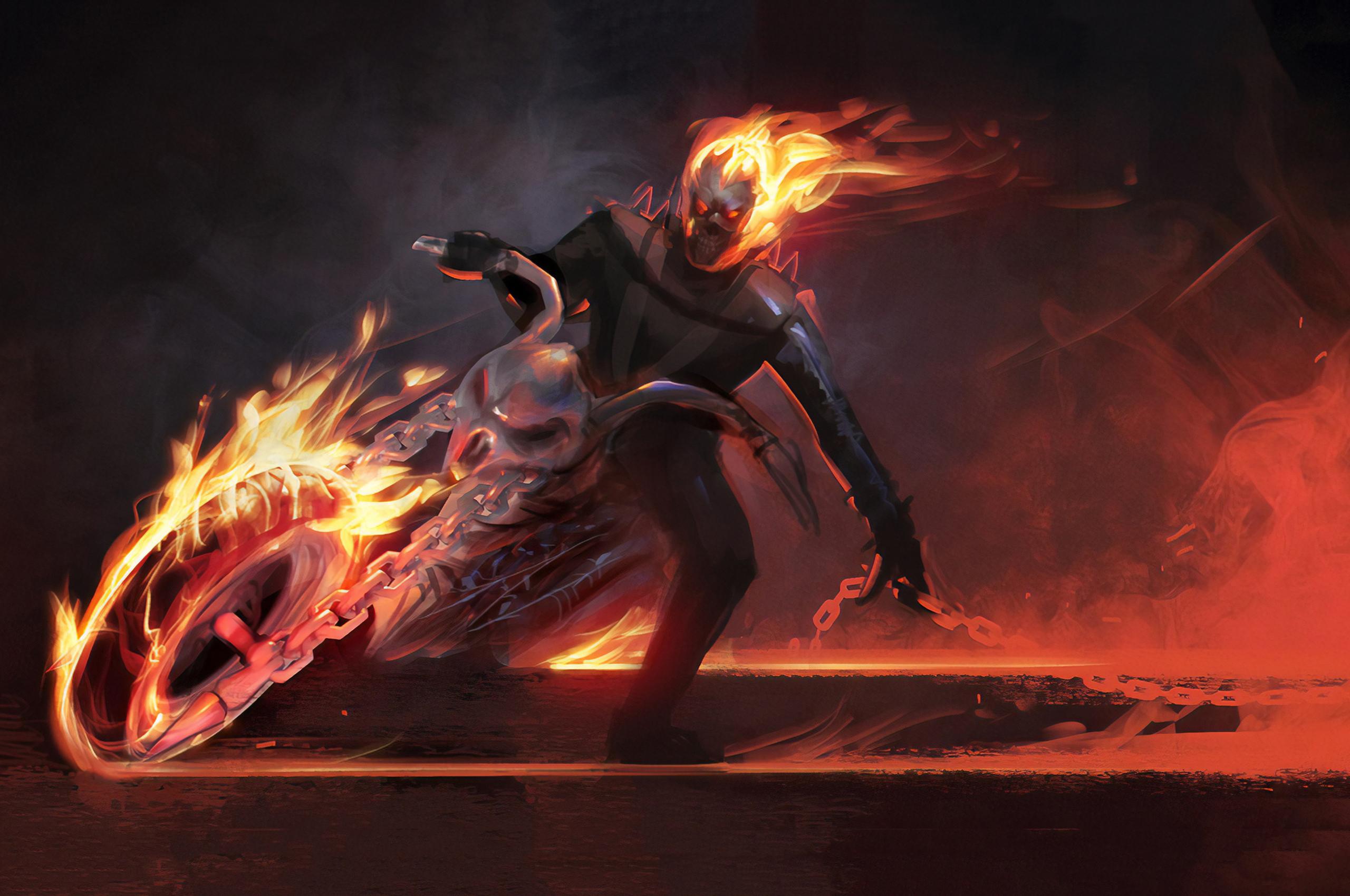 2560x1700 Ghost Rider Spirit Of Vengeance Game Chromebook Pixel Hd