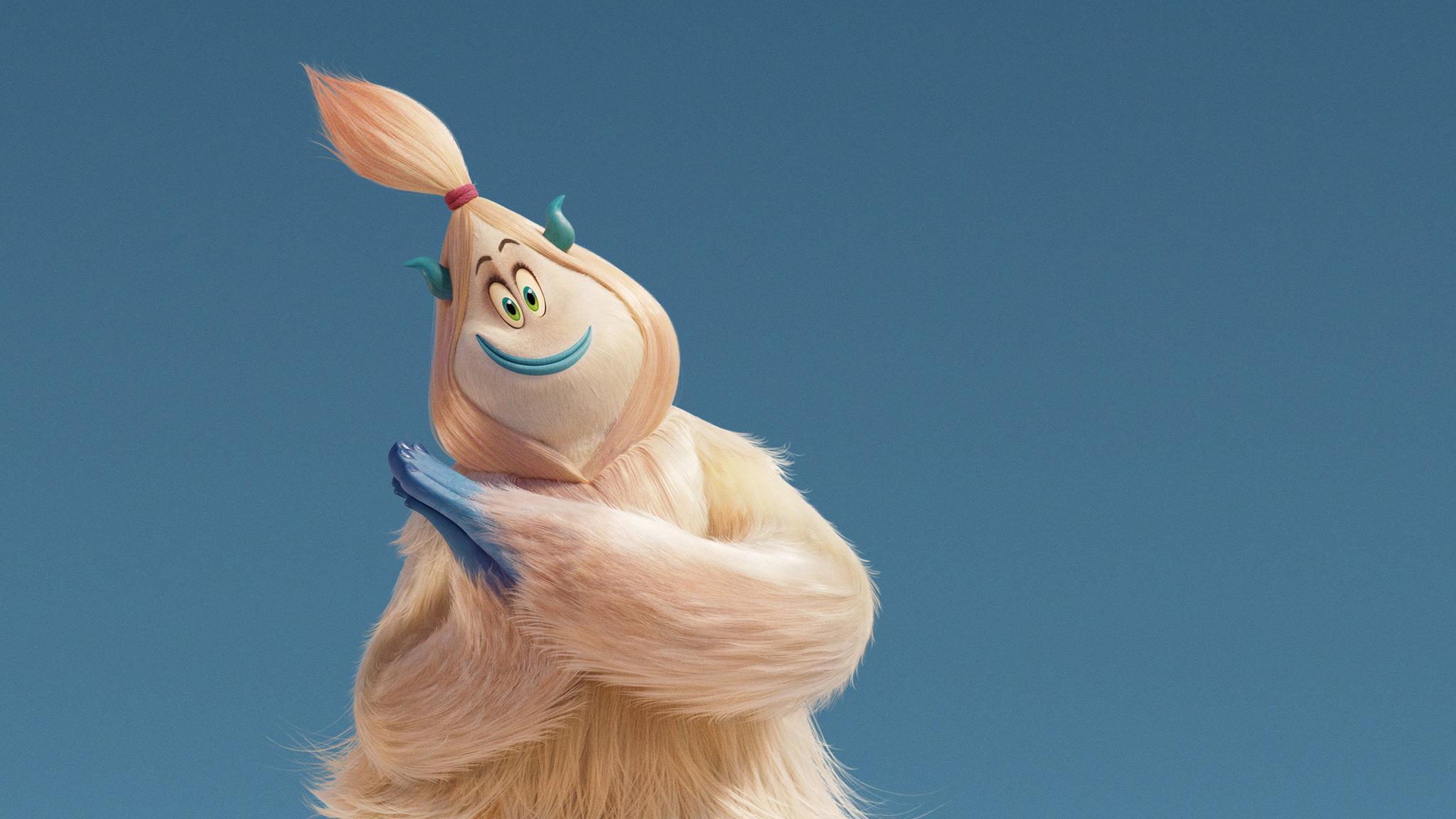 Georgina Rodriguez Hd Wallpapers Download: 2048x1152 Gina Rodriguez As Kolka In Small Foot 2018