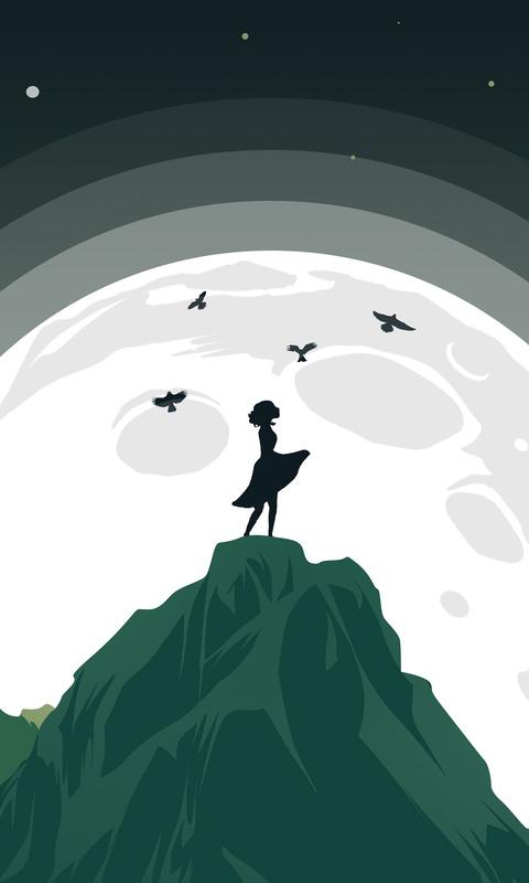 girl-mountain-top-birds-flying-around-her-minimalist-c0.jpg