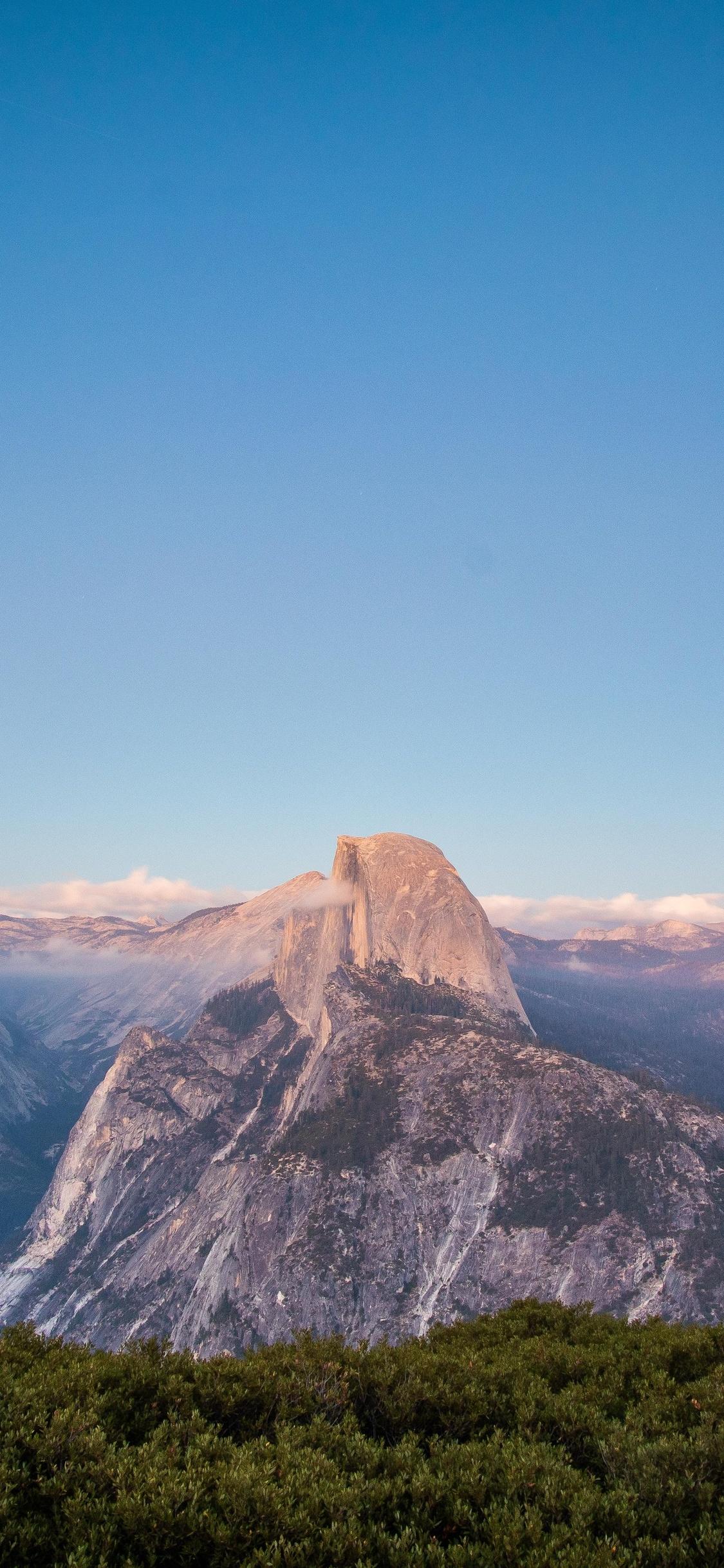 1125x2436 Glacier Point Yosemite 5k Iphone Xs Iphone 10