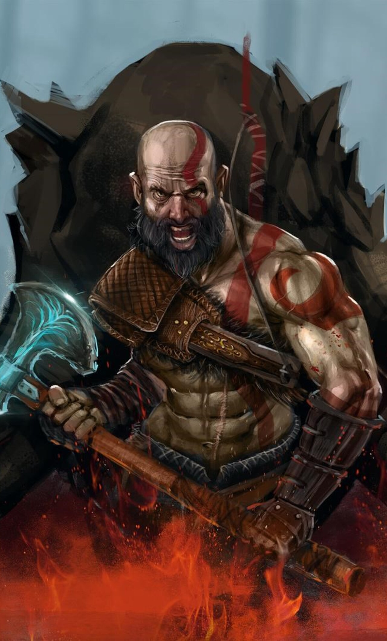 God Of War 4 Art Ap