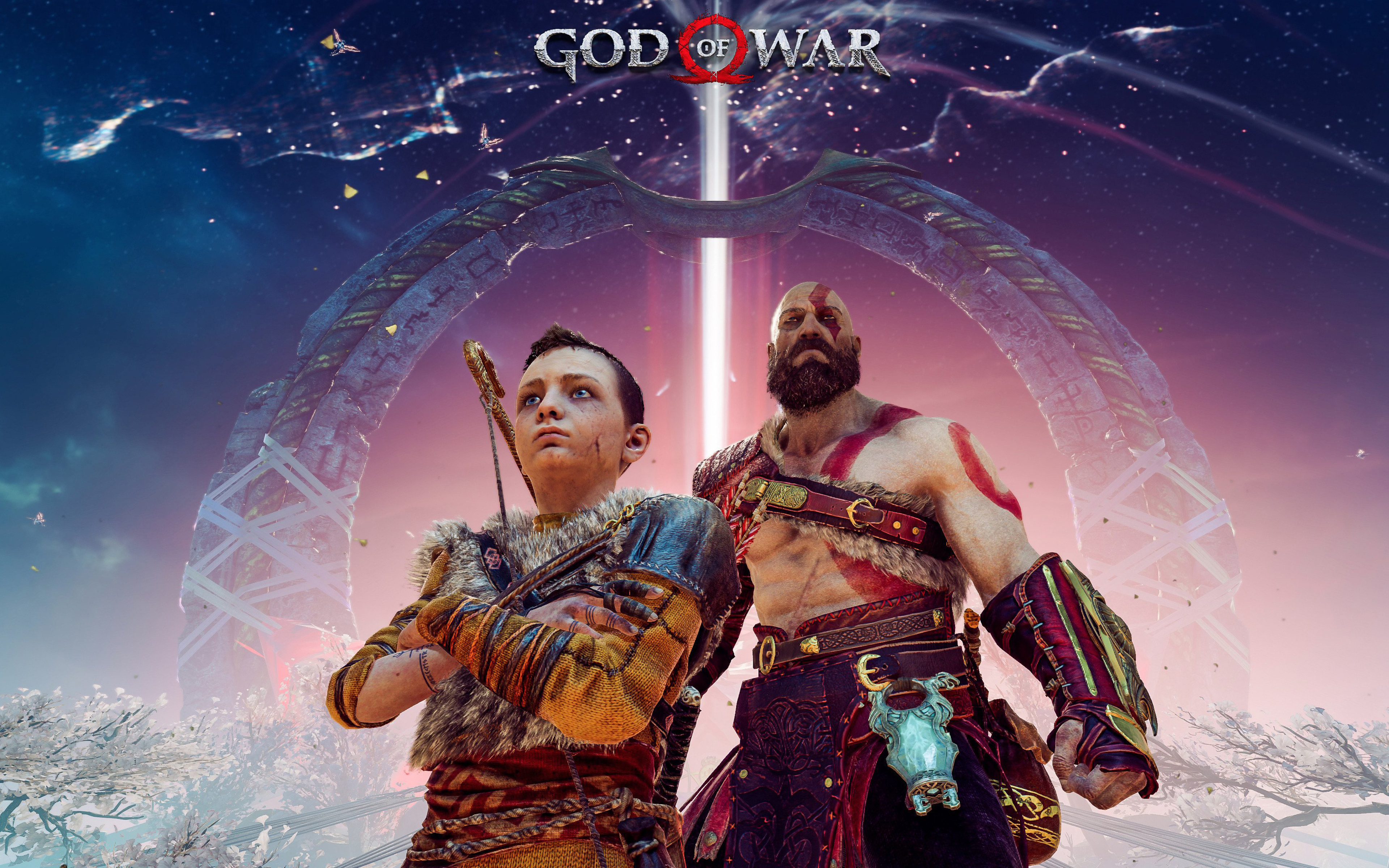3840x2400 God Of War 4 Fanart 4k 4k Hd 4k Wallpapers Images