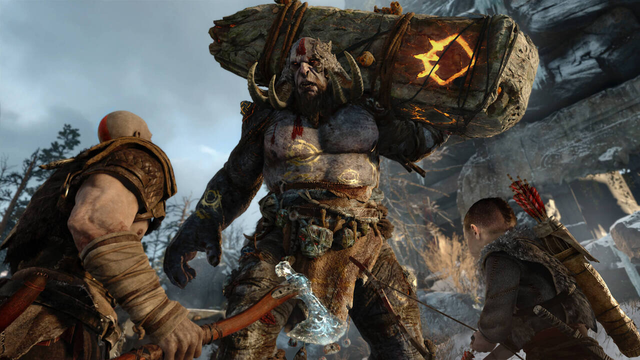 1280x720 god of war 4 ps 720p hd 4k wallpapers, images, backgrounds