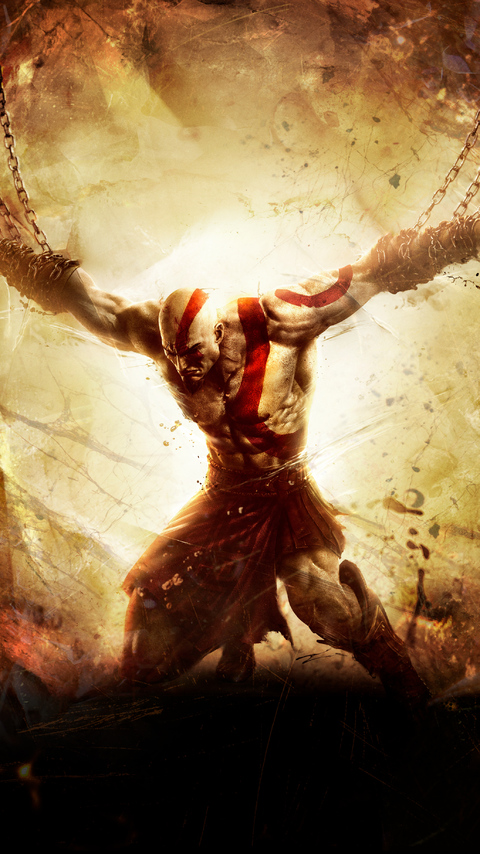 480x854 God Of War Ascension Android One Hd 4k Wallpapers