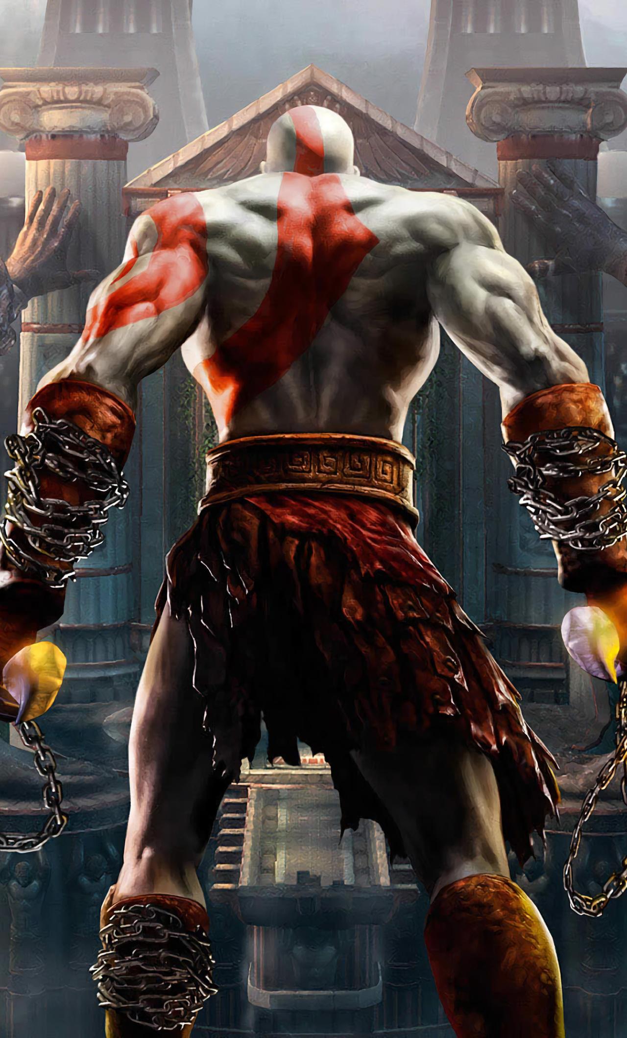 1280x2120 God Of War Kratos Iphone 6 Hd 4k Wallpapers