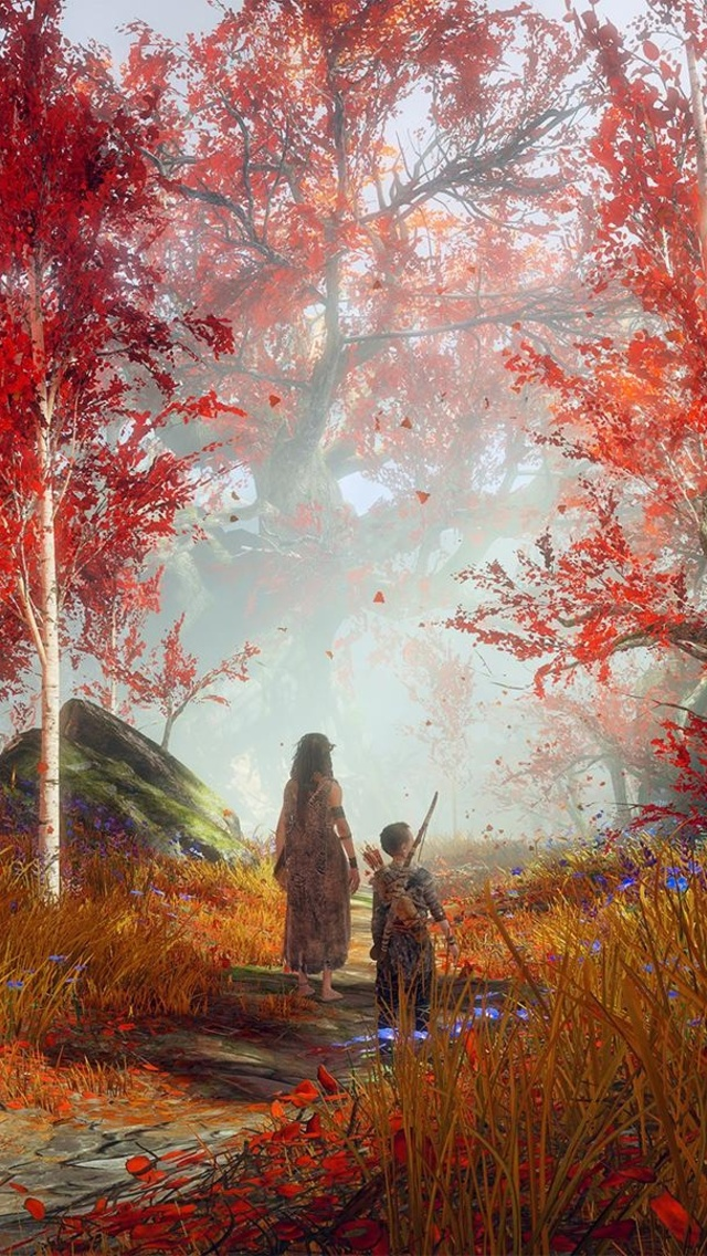 640x1136 God Of War Ps4 Iphone 5 5c 5s Se Ipod Touch Hd 4k