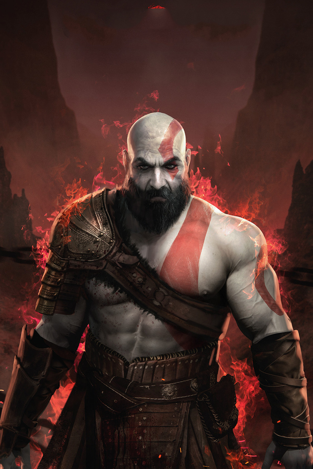 640x960 God Of War Iphone 4 Iphone 4s Hd 4k Wallpapers