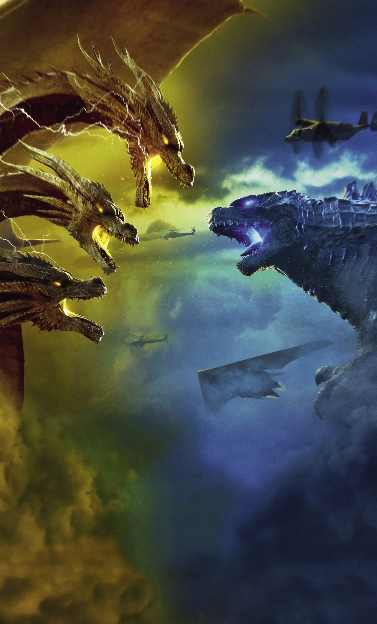 1280x2120 Godzilla King Of The Monsters 4k Iphone 6 Hd 4k