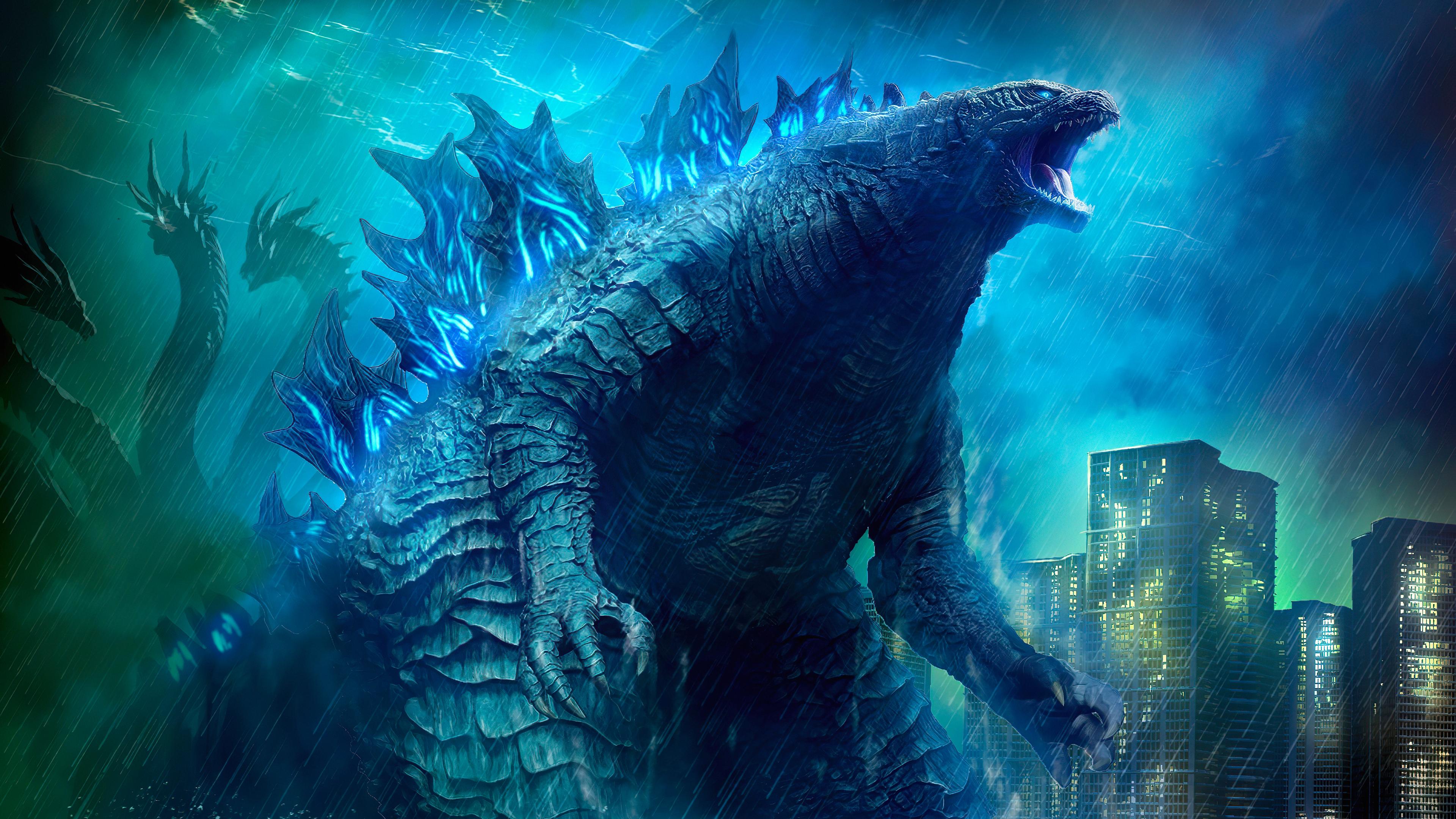 3840x2160 Godzilla King Of The Monsters Movie 4k Art 4k HD ...