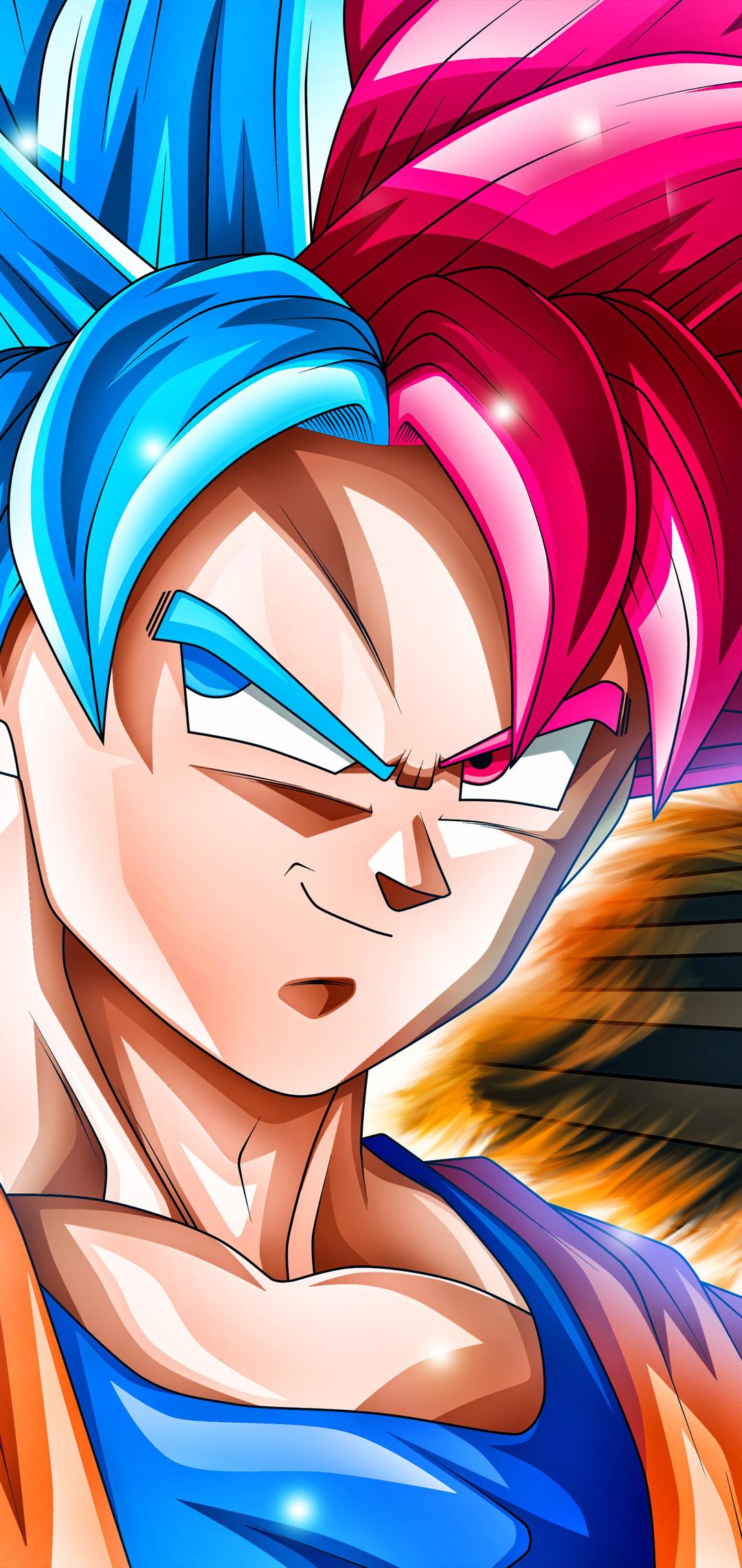 1080x2280 Goku 5k Dragon Ball Super One Plus 6 Huawei P20 Honor