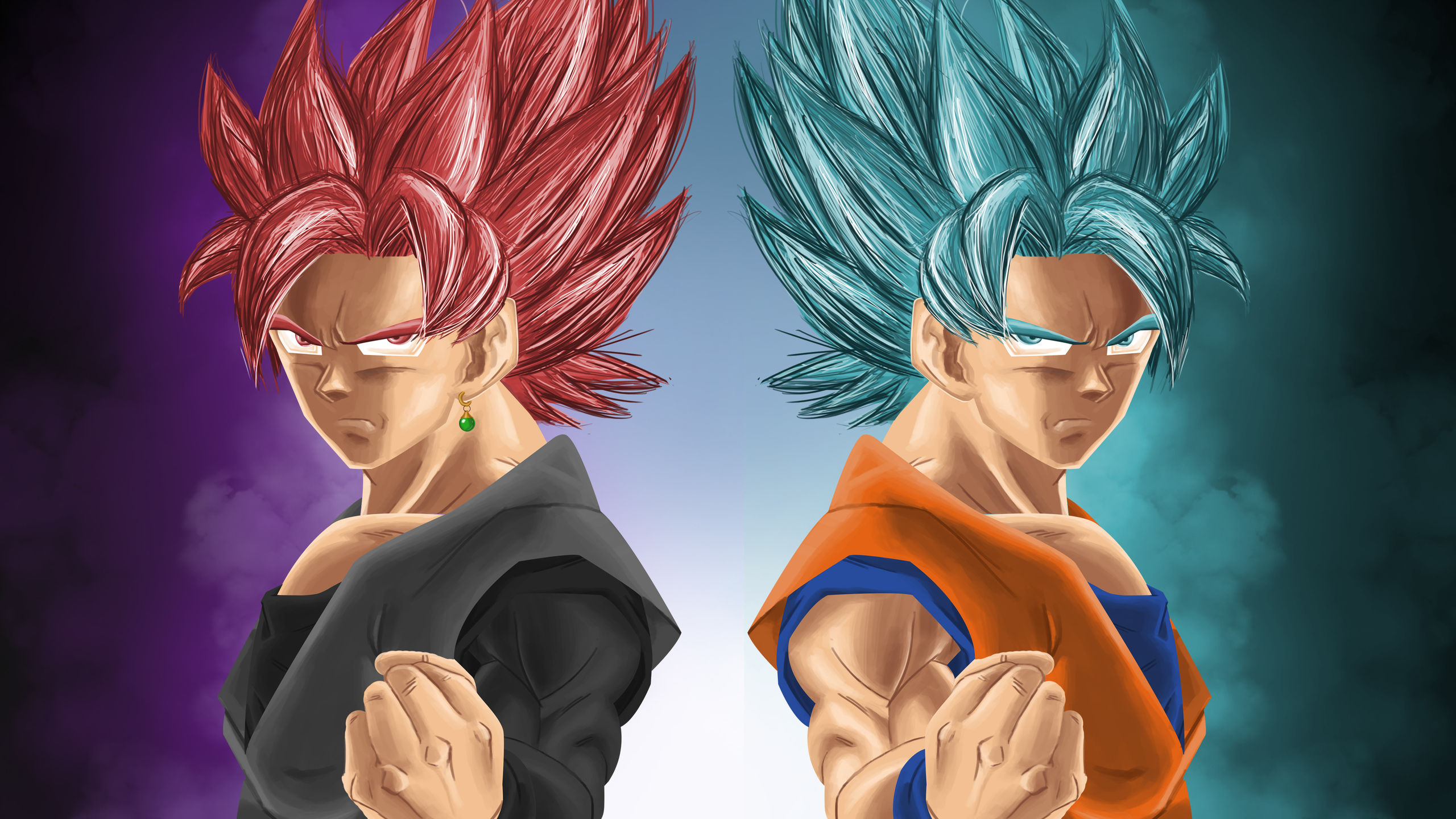 2560x1440 Goku And Black 1440p Resolution Hd 4k Wallpapers Images Backgrounds Photos And Pictures