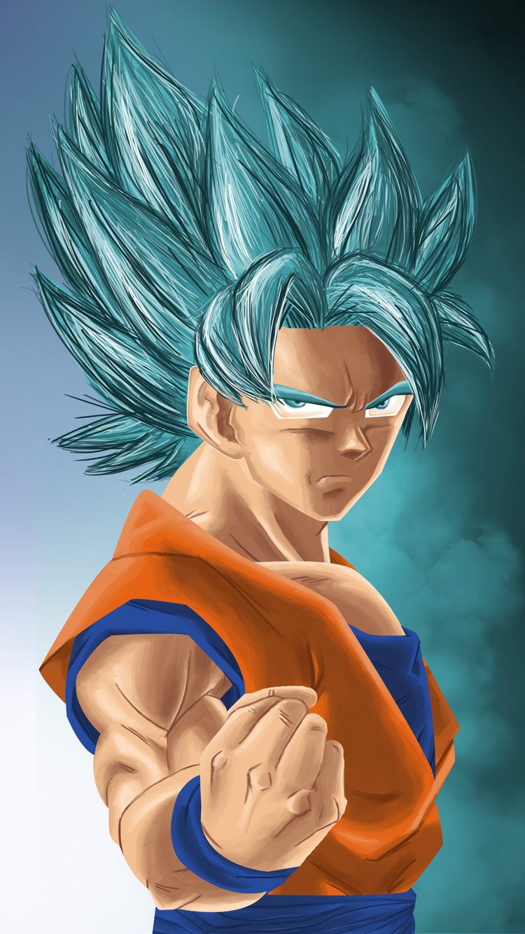 750x1334 Goku And Black Iphone 6 Iphone 6s Iphone 7 Hd 4k
