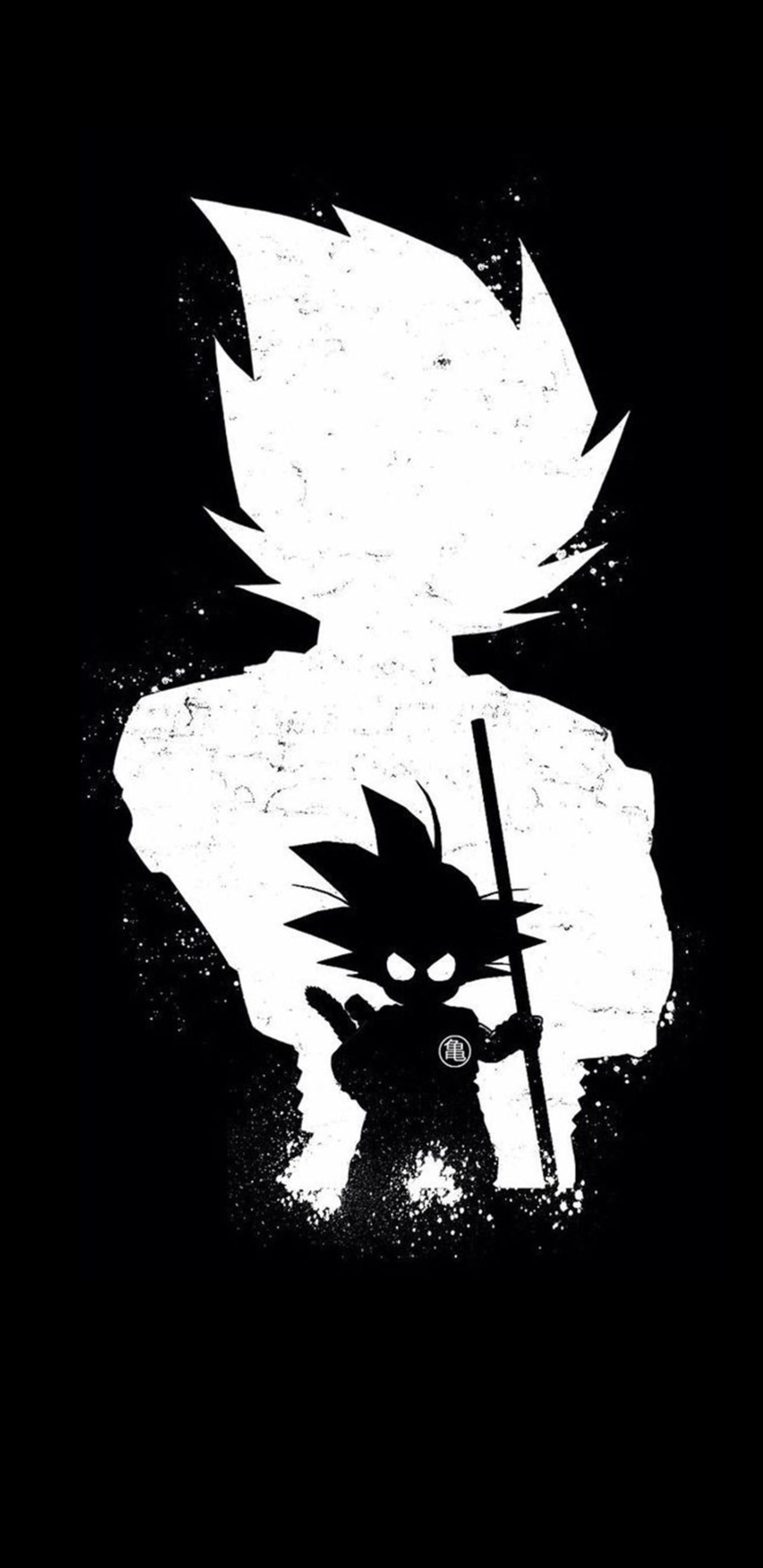 1440x2960 Goku Anime Dark Black 4k Samsung Galaxy Note 9 8 S9 S8