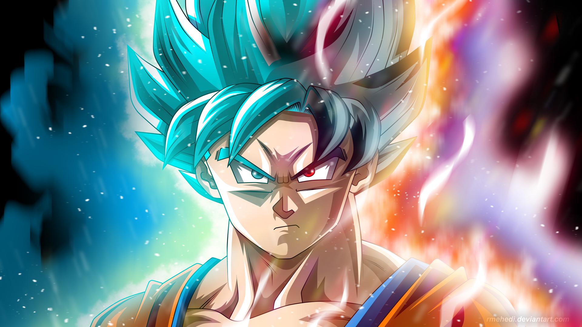 1920x1080 Goku Anime Dragon Ball Super 4k 5k Laptop Full HD 1080P HD 4k Wallpapers, Images ...