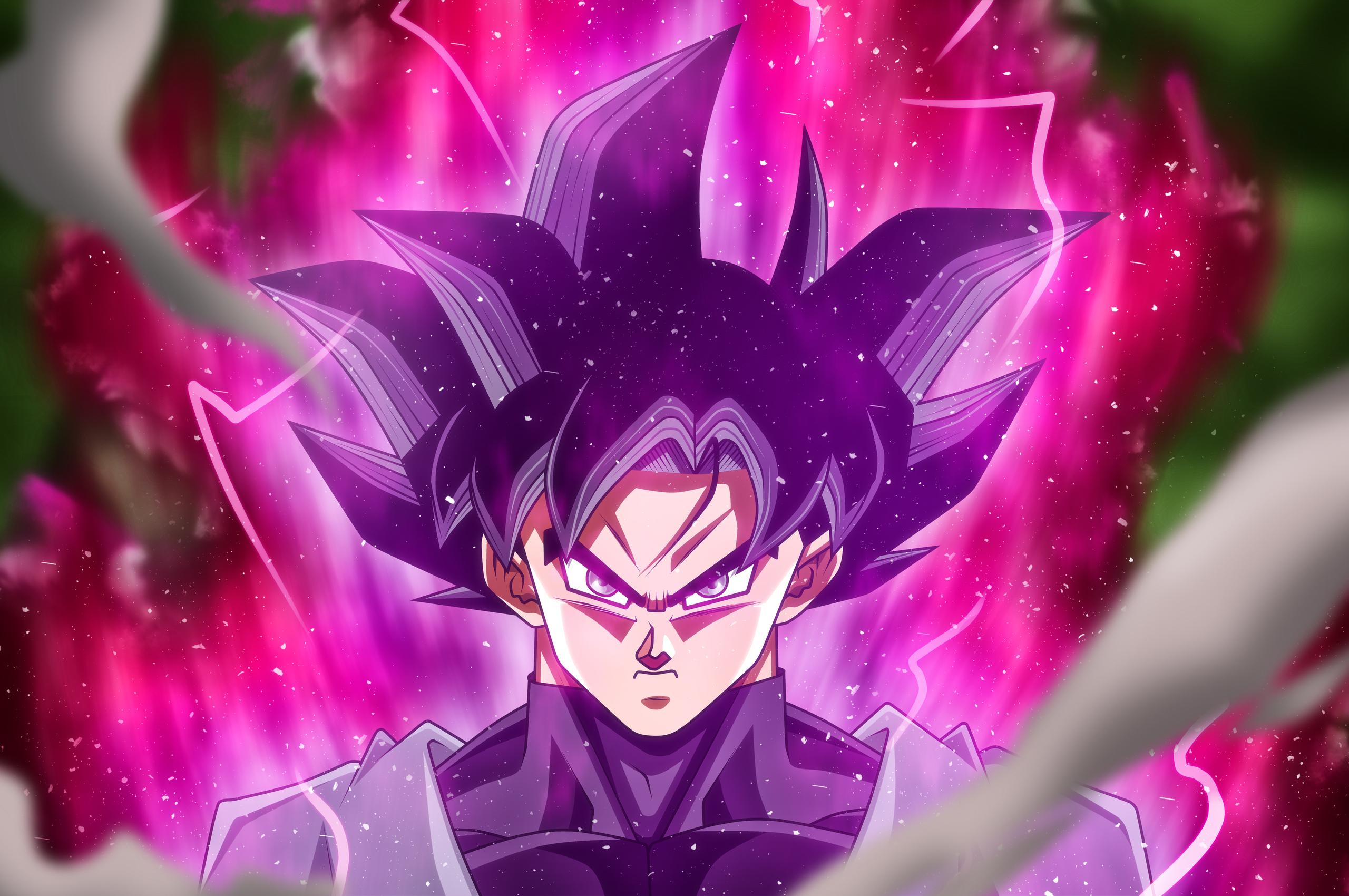 Goku Black Rose Wallpaper 4k