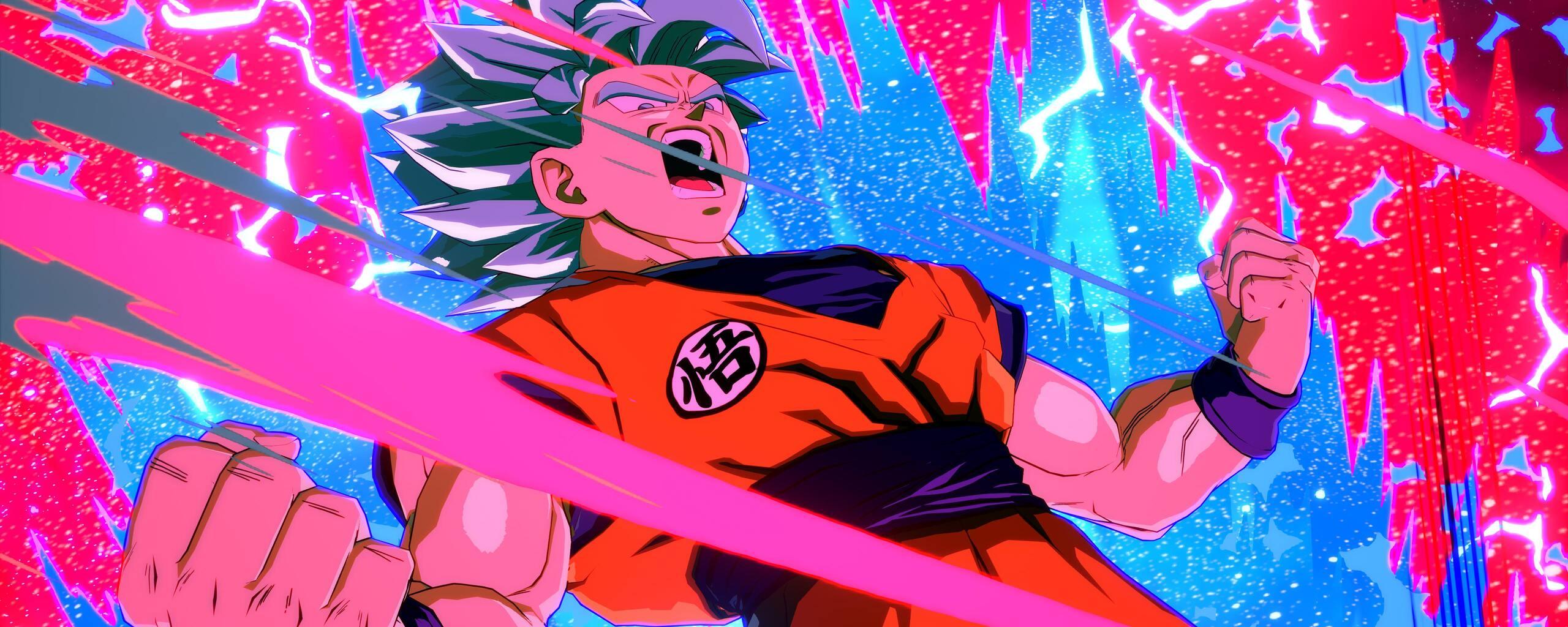 2560x1024 Goku Dragon Ball Fighterz 5k 2560x1024 Resolution