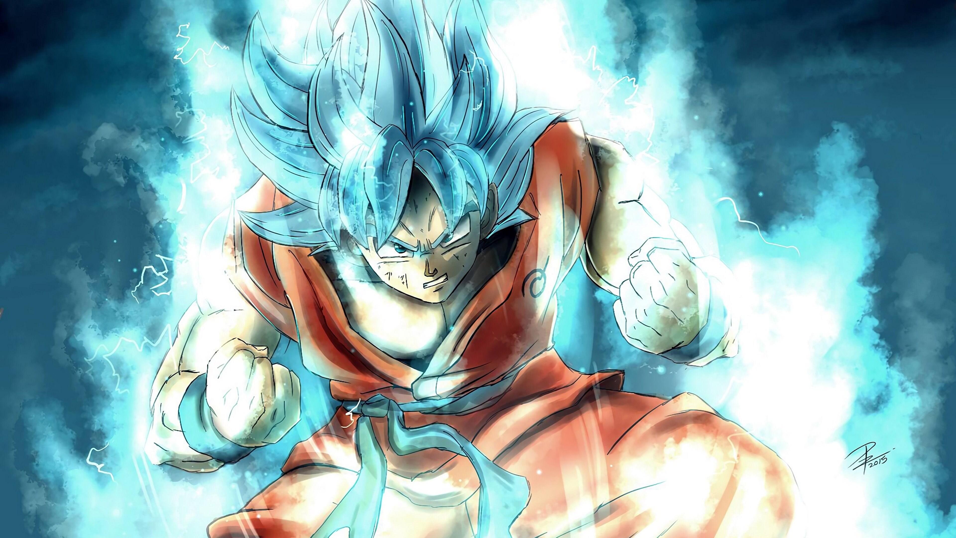 3840x2160 Goku Dragon Ball Super 4k 2018 4k HD 4k ...