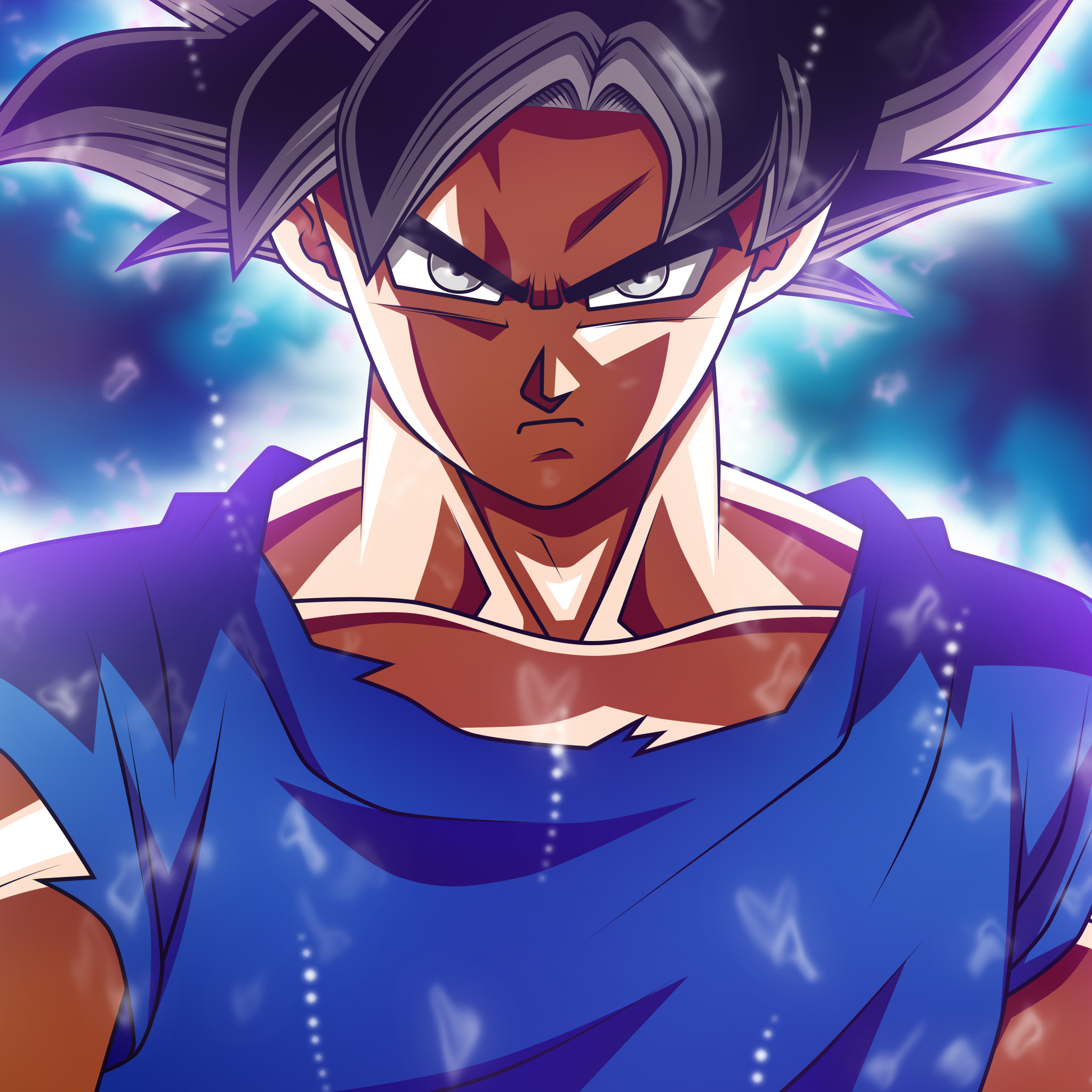 2048x2048 Goku Dragon Ball Super 5k 2017 Ipad Air HD 4k ...
