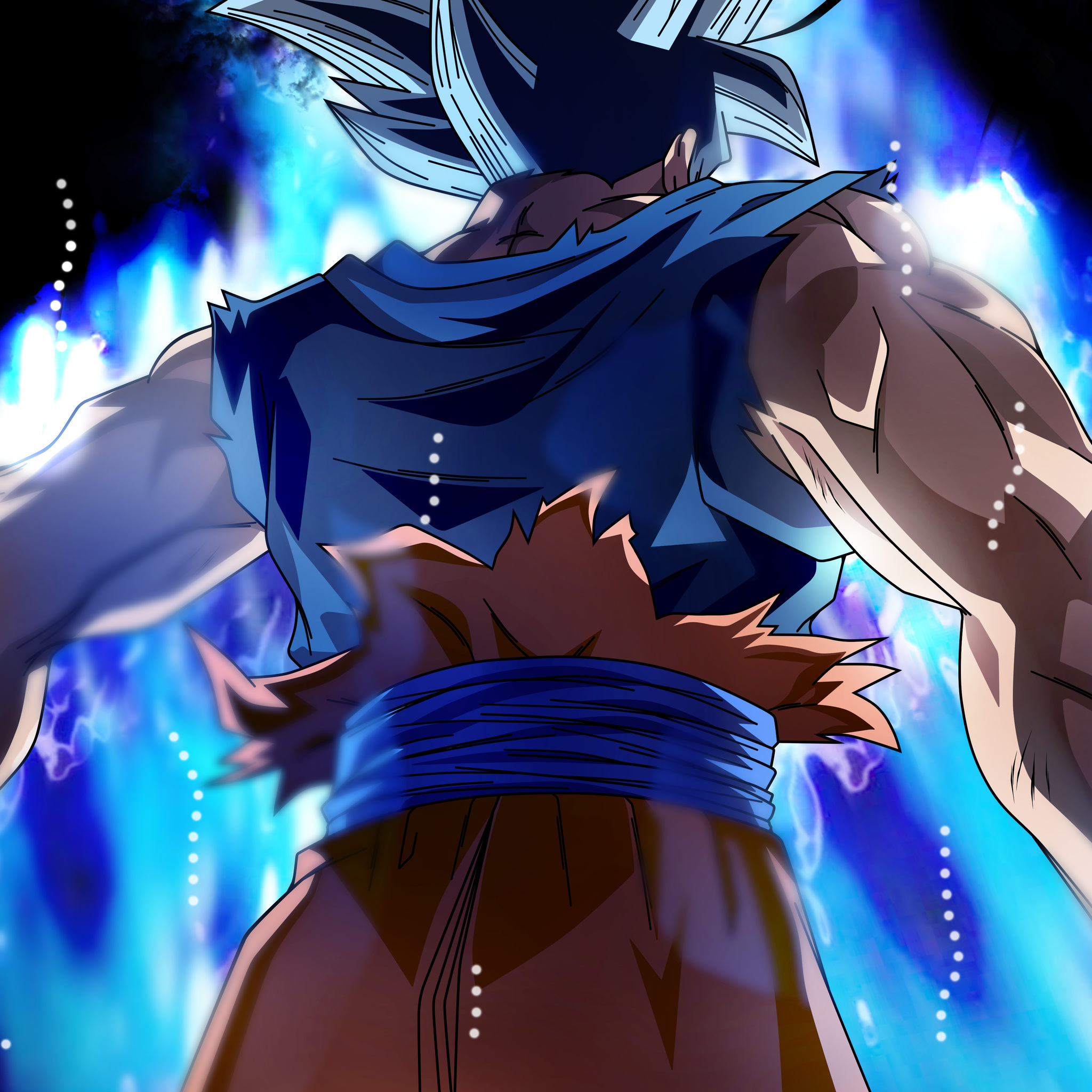 4k Wallpaper Dragon Ball: 2048x2048 Goku Dragon Ball Super 5k Anime Ipad Air HD 4k