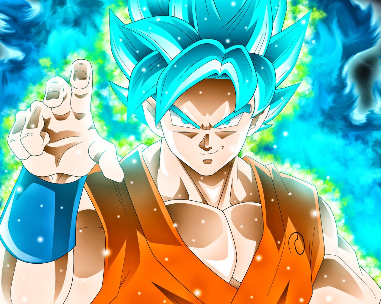 1280x1024 Goku Dragon Ball Super ...