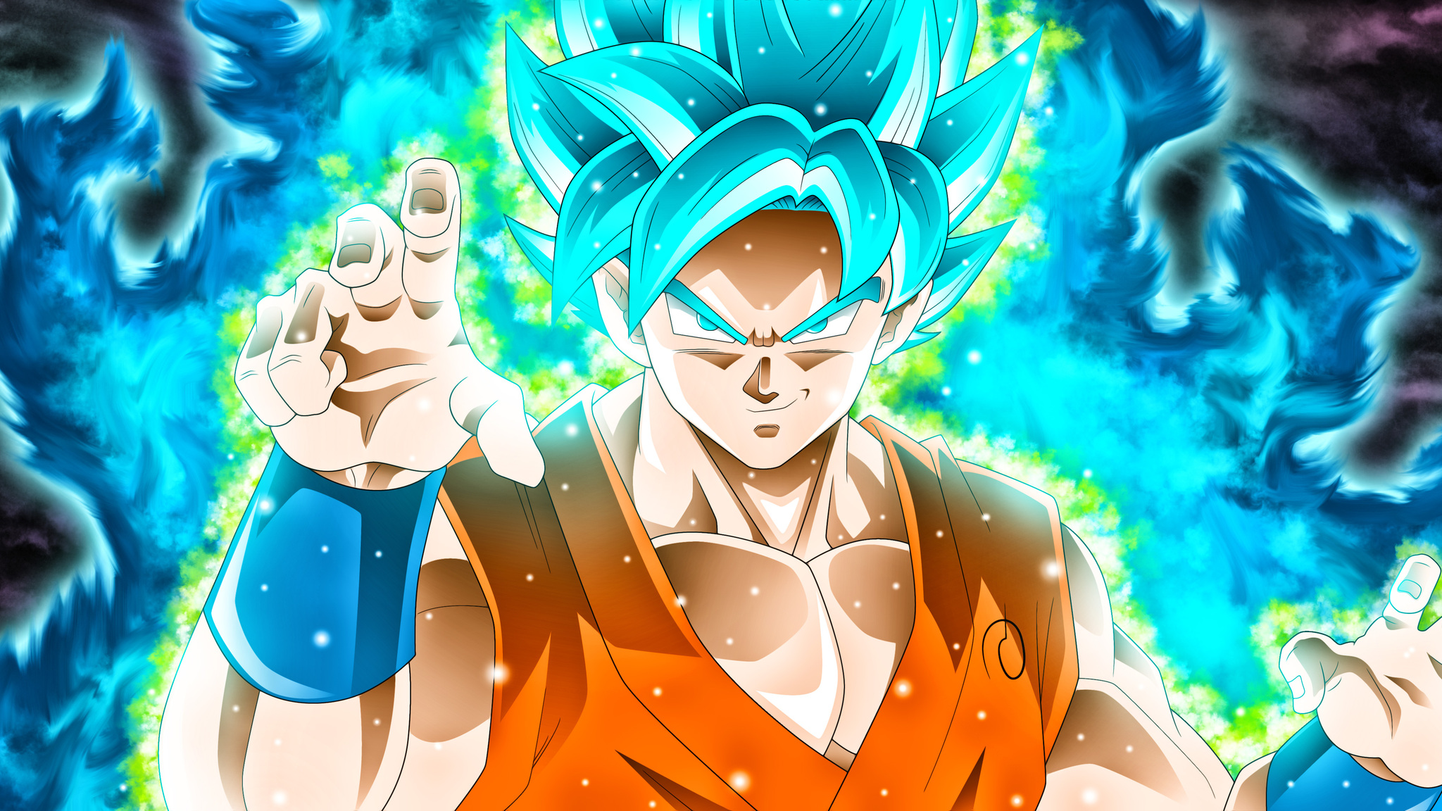 2048x1152 Goku Dragon Ball Super 2048x1152 Resolution HD 4k